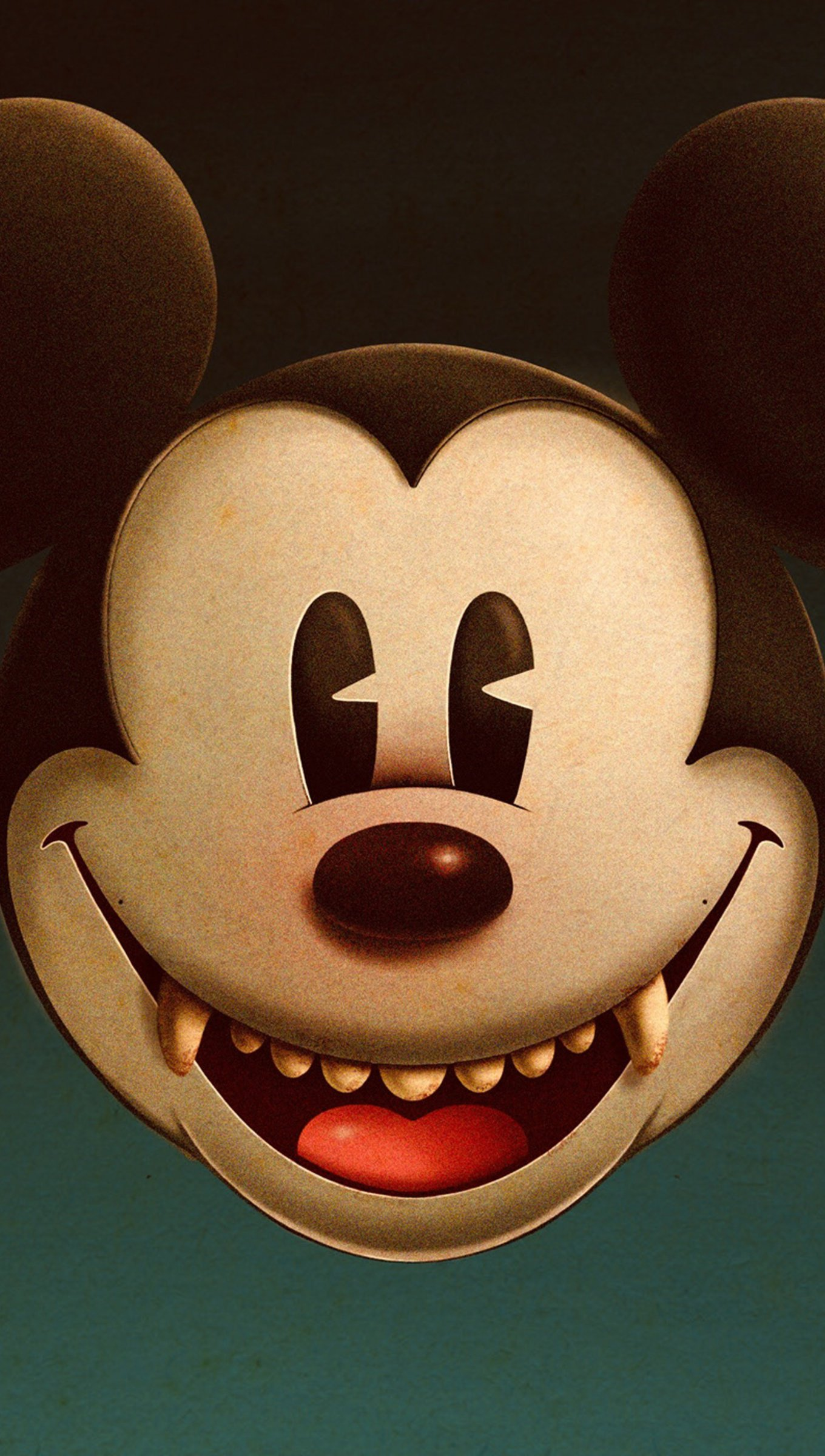 Wallpaper Mickey Mouse Vampire Vertical