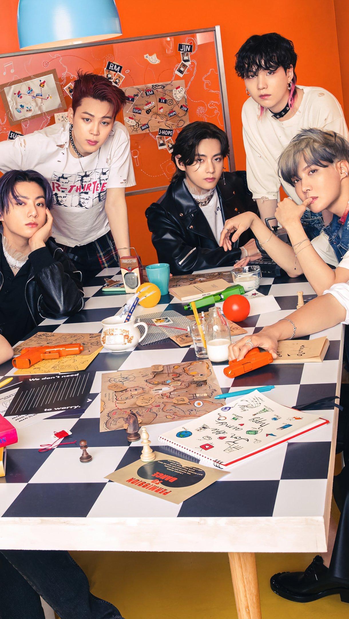 Wallpaper BTS members Vertical