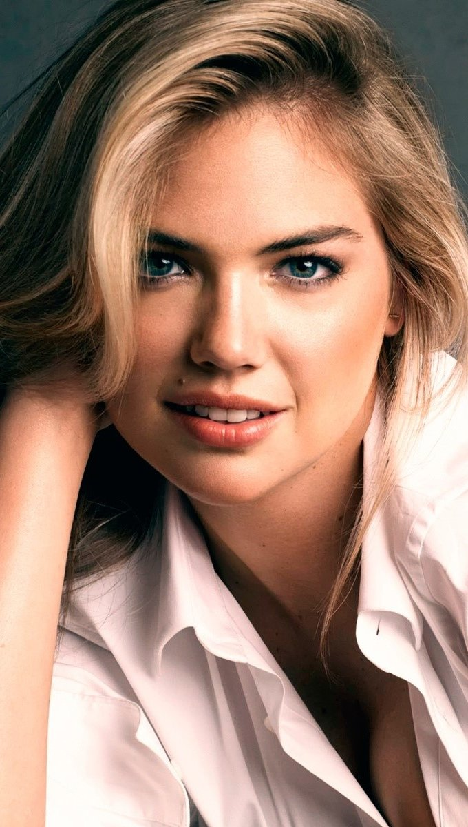 Wallpaper Model and actress Kate Upton Vertical