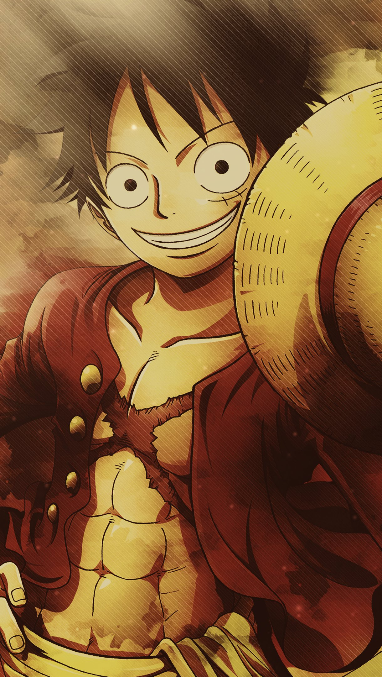 Fondos de pantalla Anime Monkey D. Luffy de One Piece Vertical