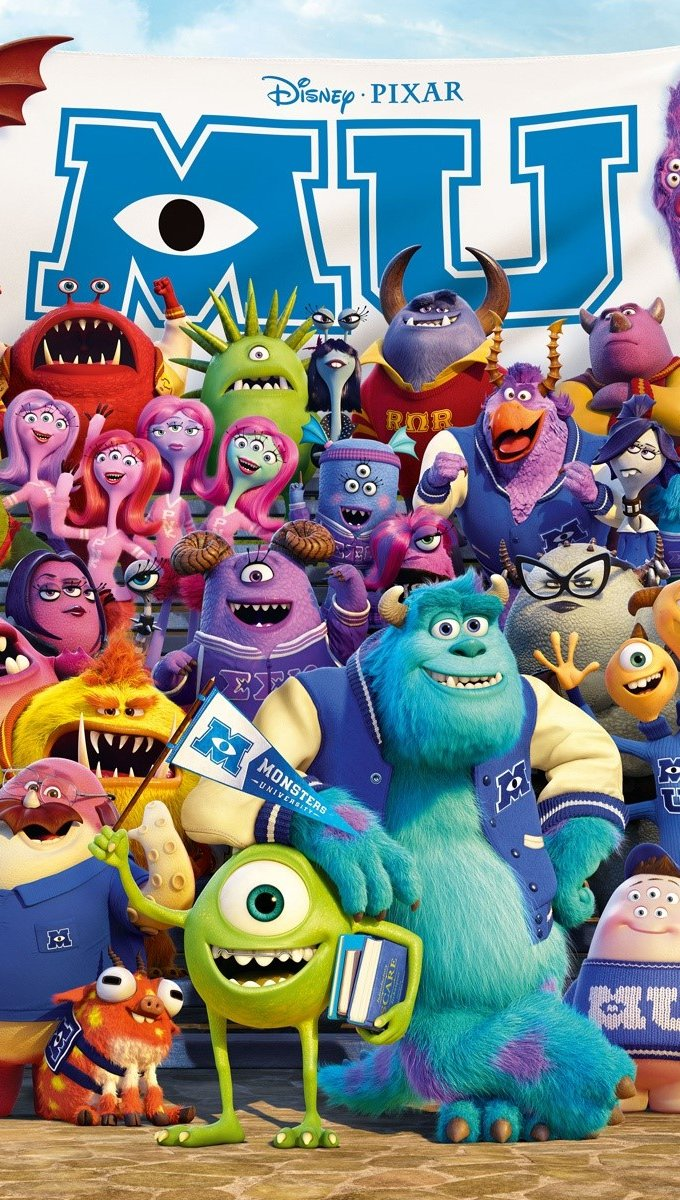 Fondos de pantalla Monsters university 2013 Vertical