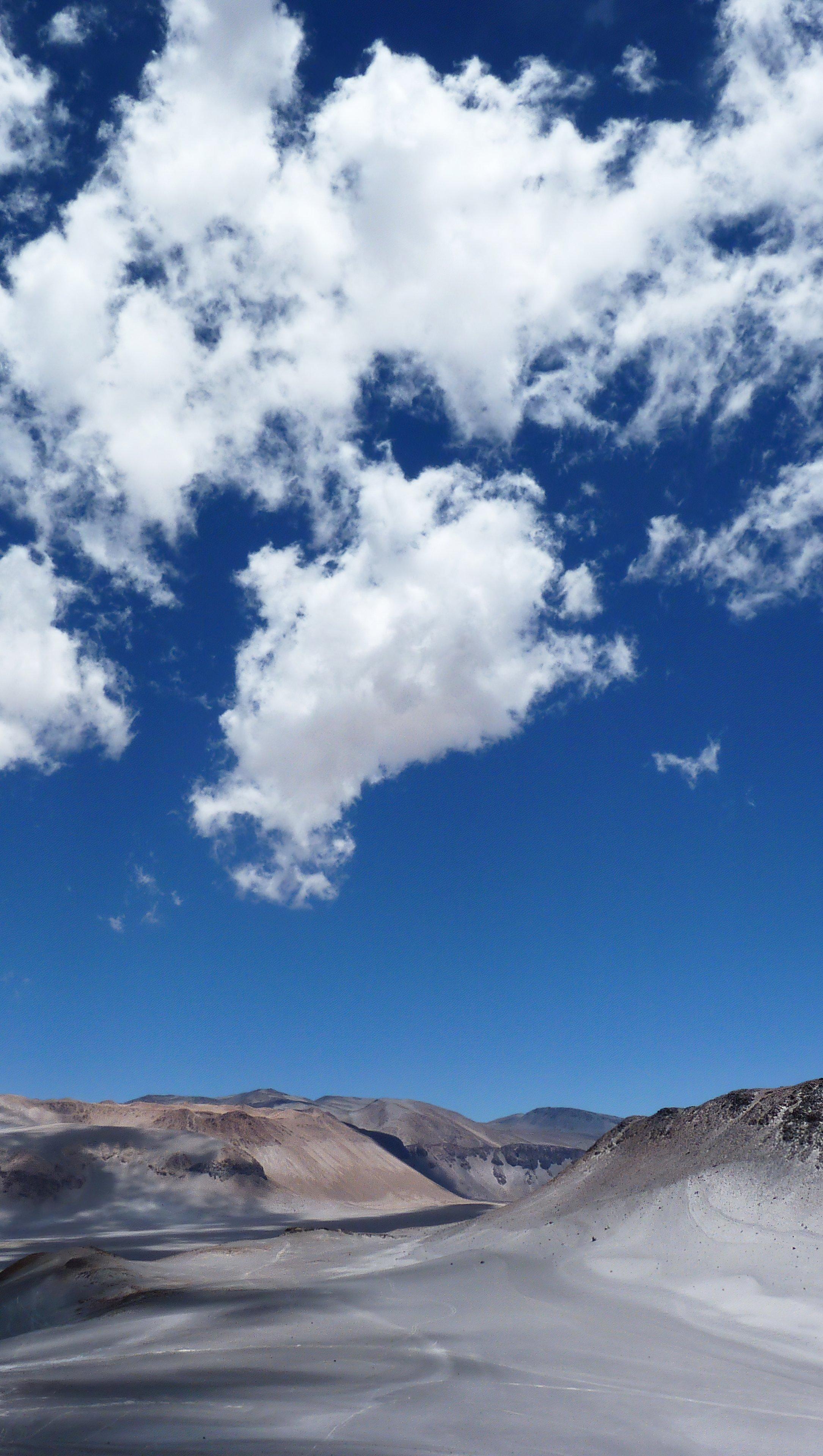 Wallpaper Desert Mountains Vertical