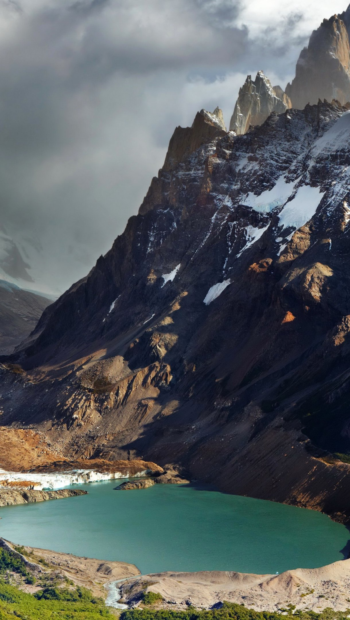 Wallpaper Mountains in Patagonia Argentina Vertical