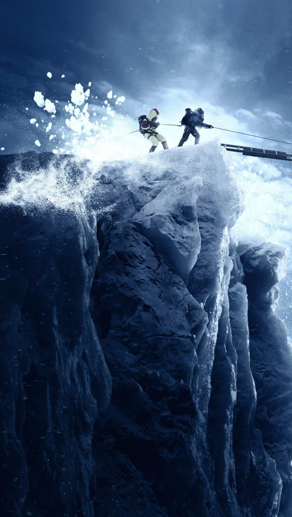 Wallpaper Mount Everest Vertical