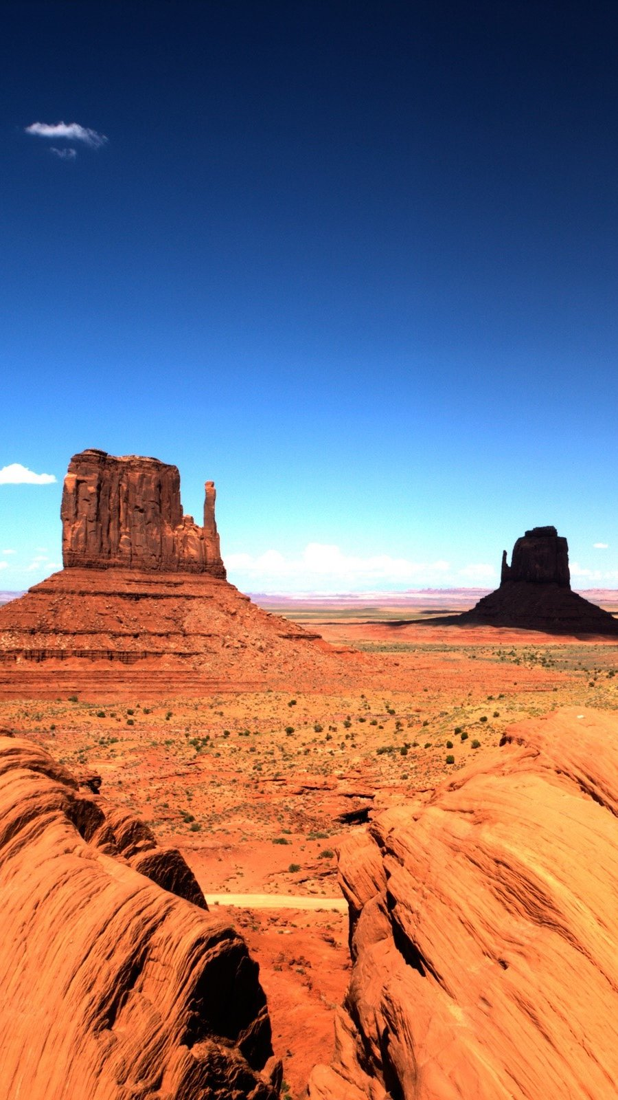 Wallpaper Monument valley of iOS Vertical