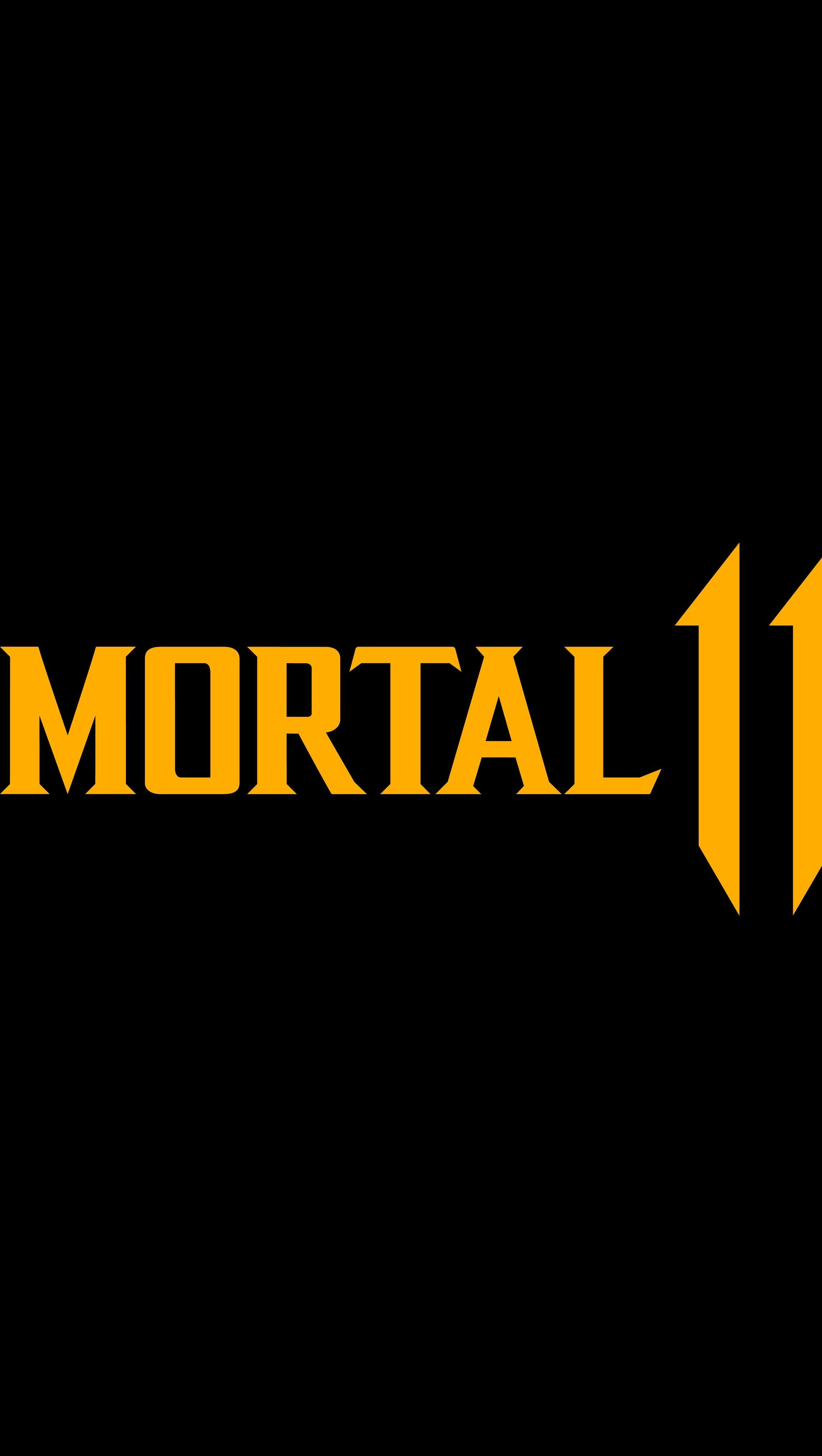 Fondos de pantalla Mortal Kombat 11 Logo Vertical