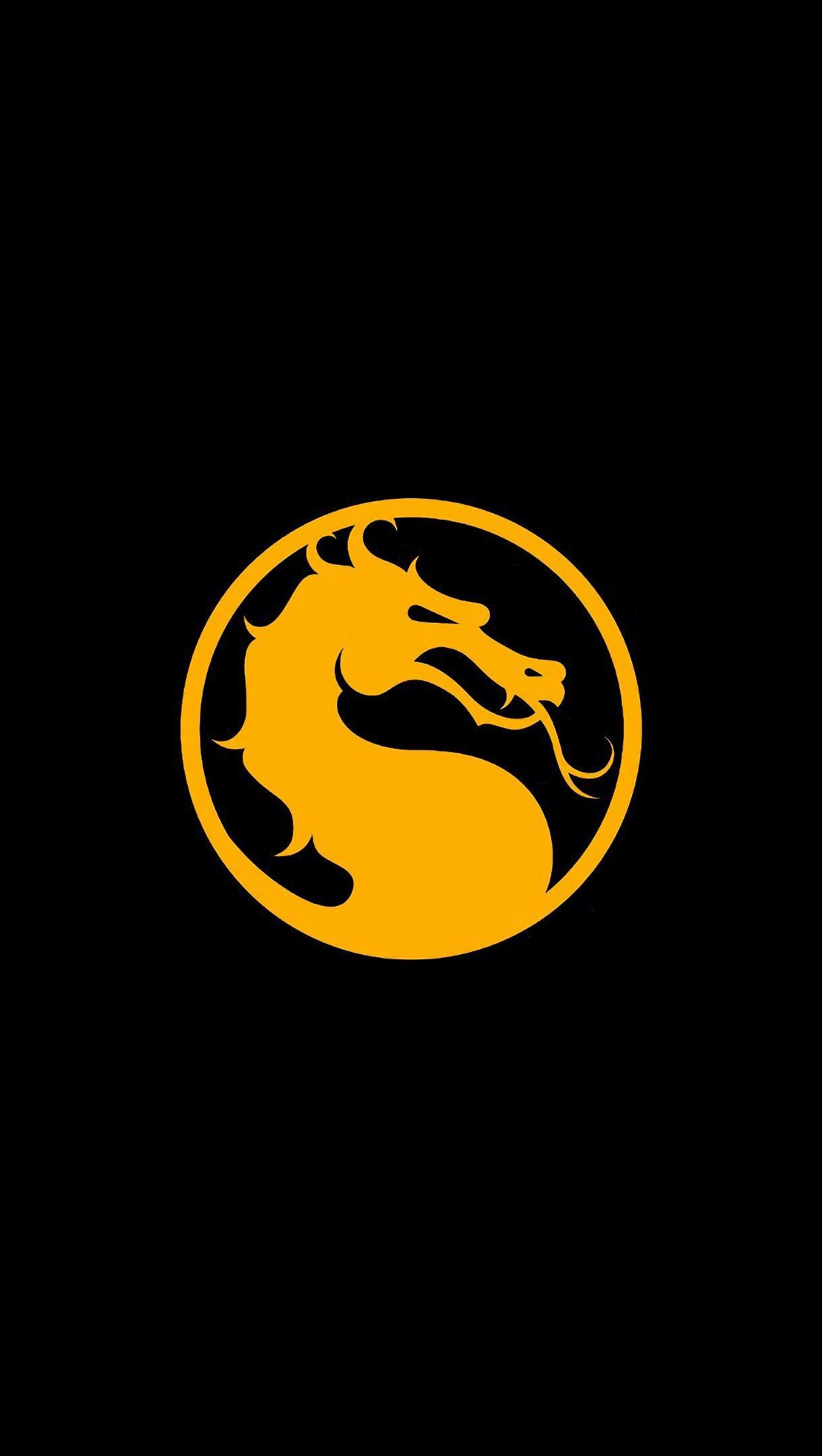 Fondos de pantalla Mortal Kombat 11 Logo Dragón Vertical