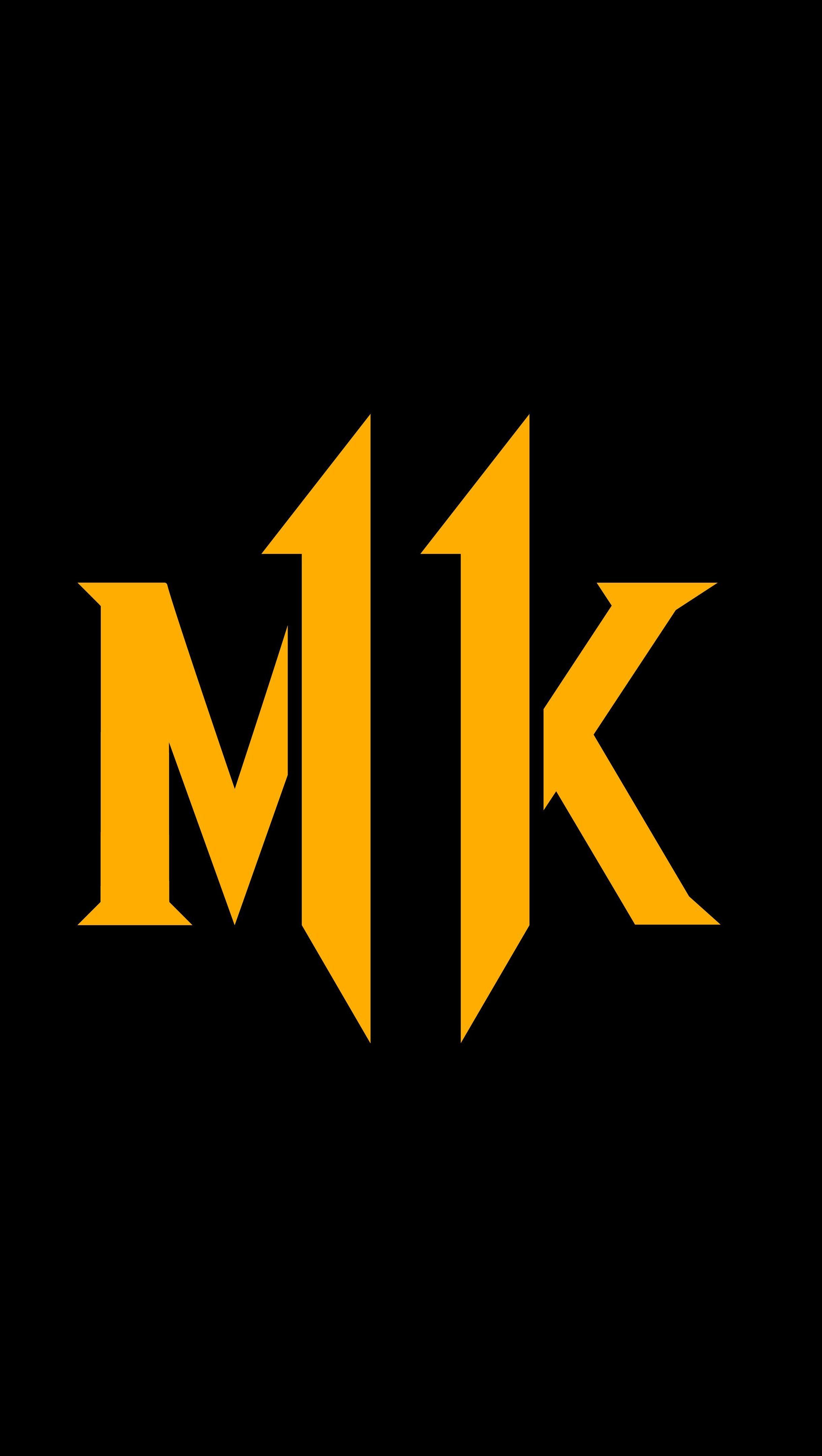 Fondos de pantalla Mortal Kombat 11 Logo MK Vertical