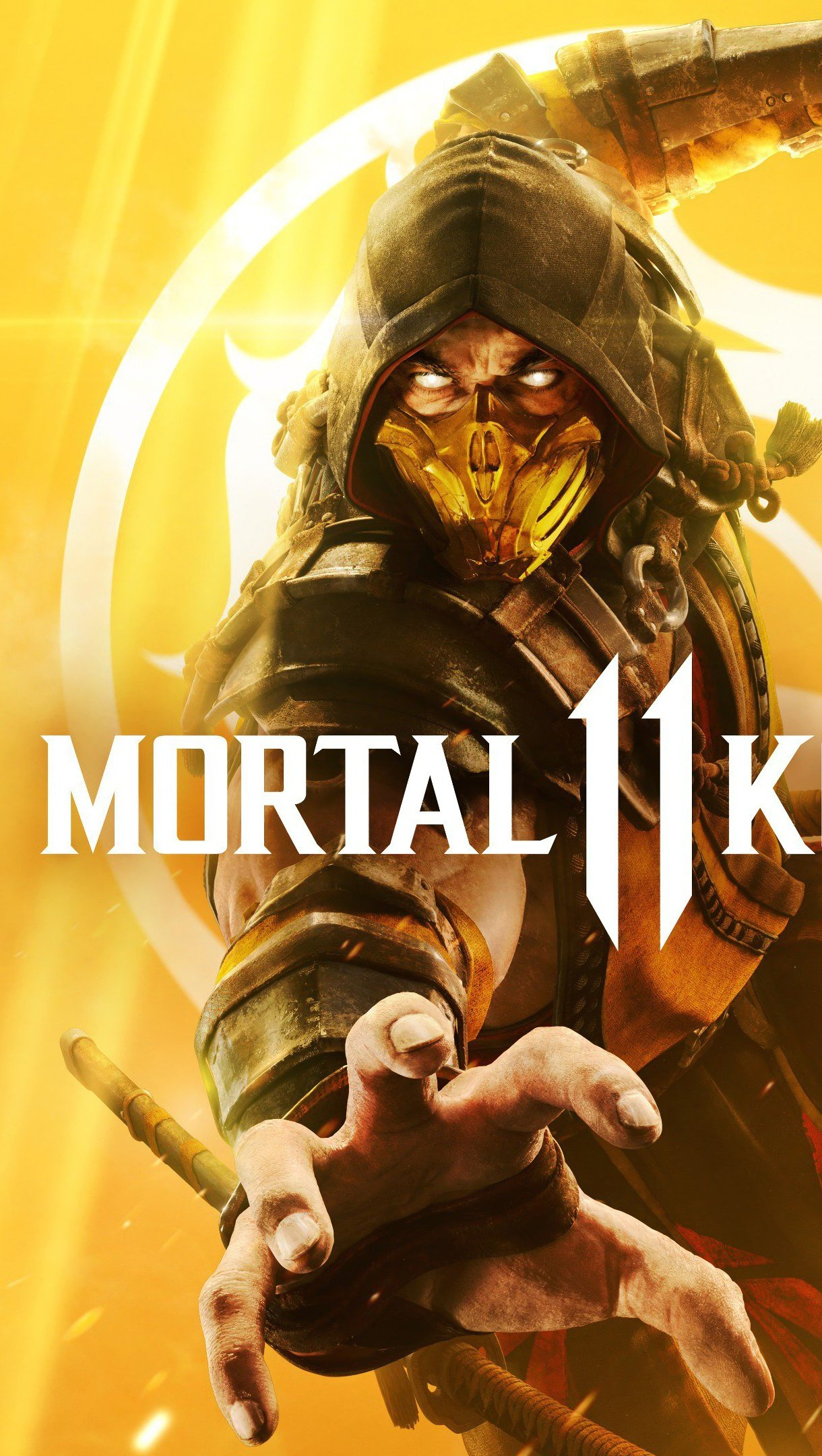 Fondos de pantalla Mortal Kombat 11 Scorpion Vertical