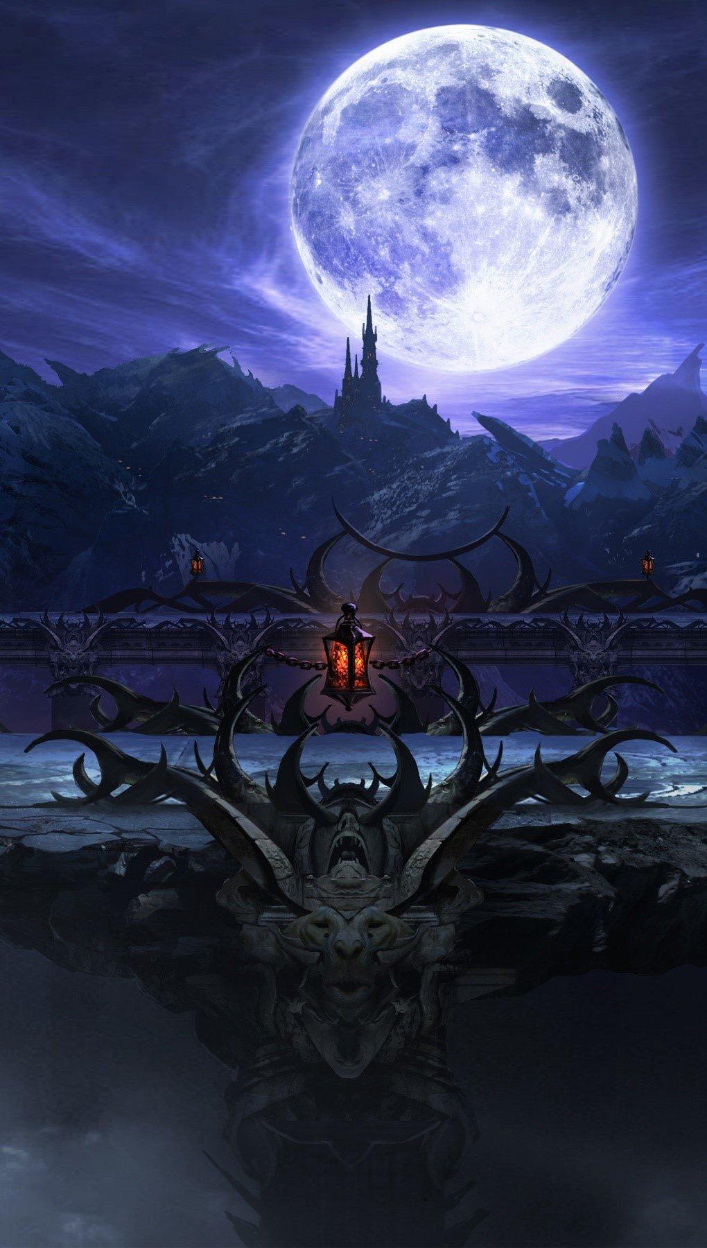 Wallpaper Mortal Kombat X Stage Vertical