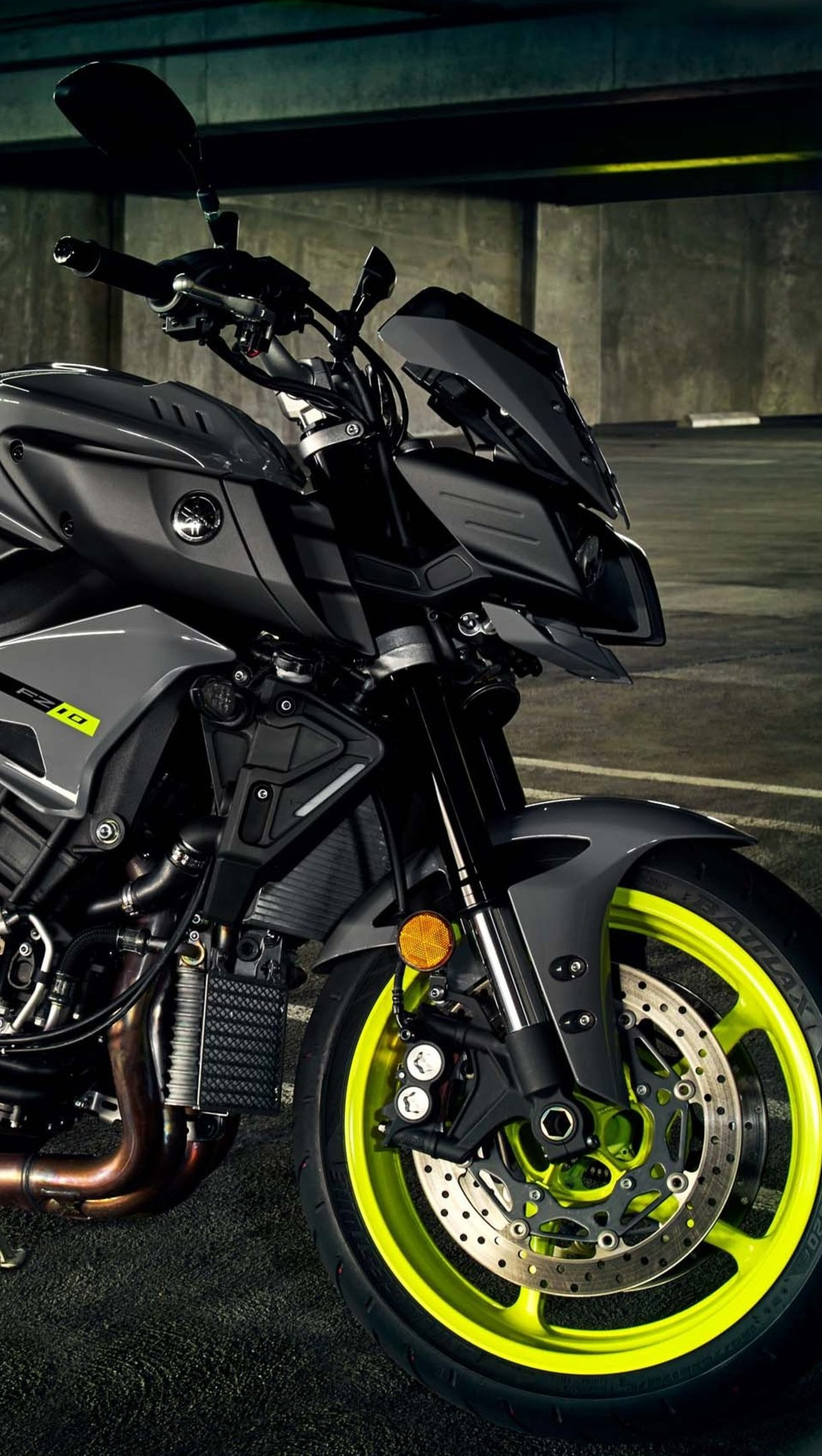 Wallpaper Yamaha FZ 10 Motorcycle Vertical