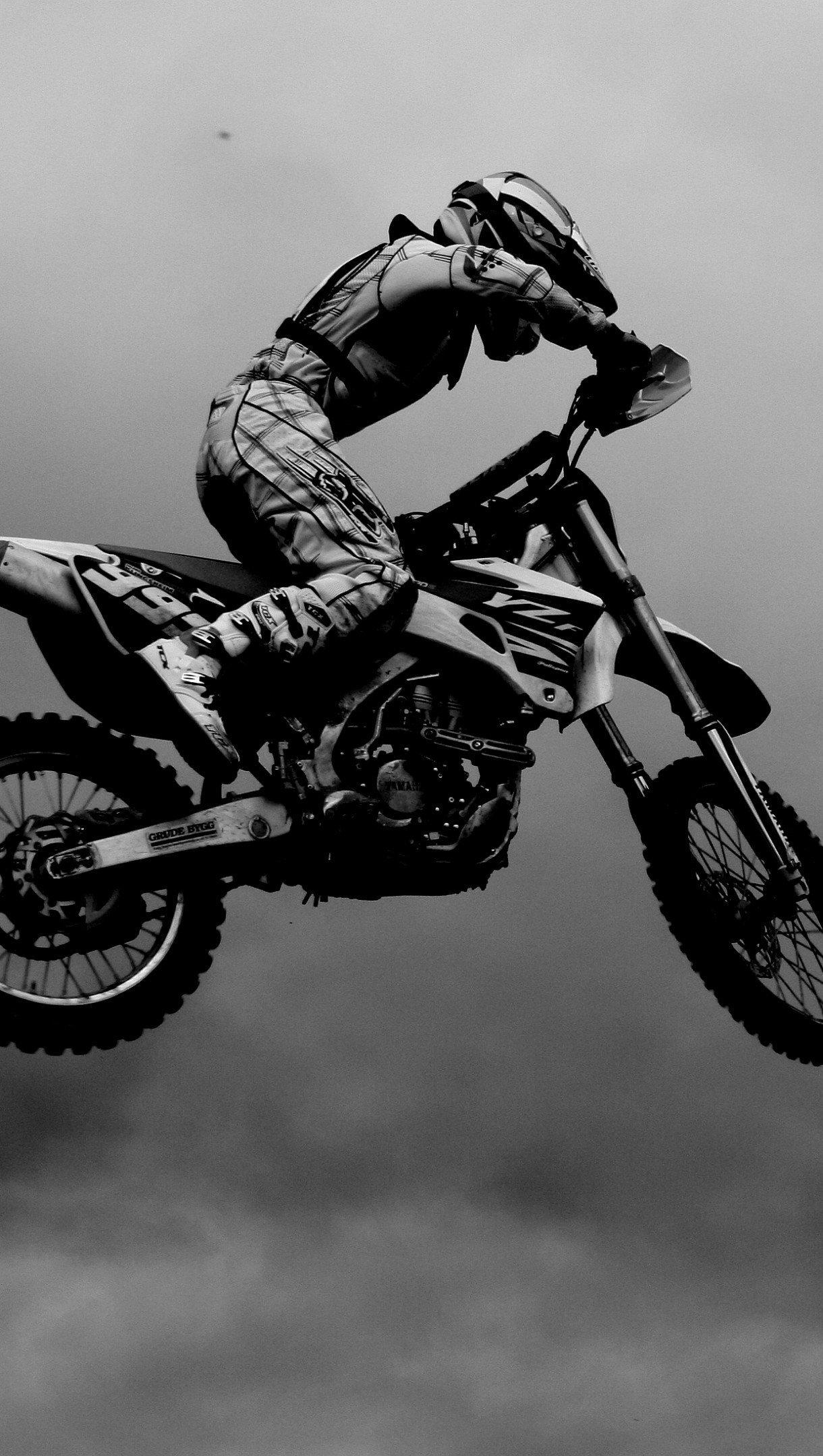 Fondos de pantalla Motocross Vertical