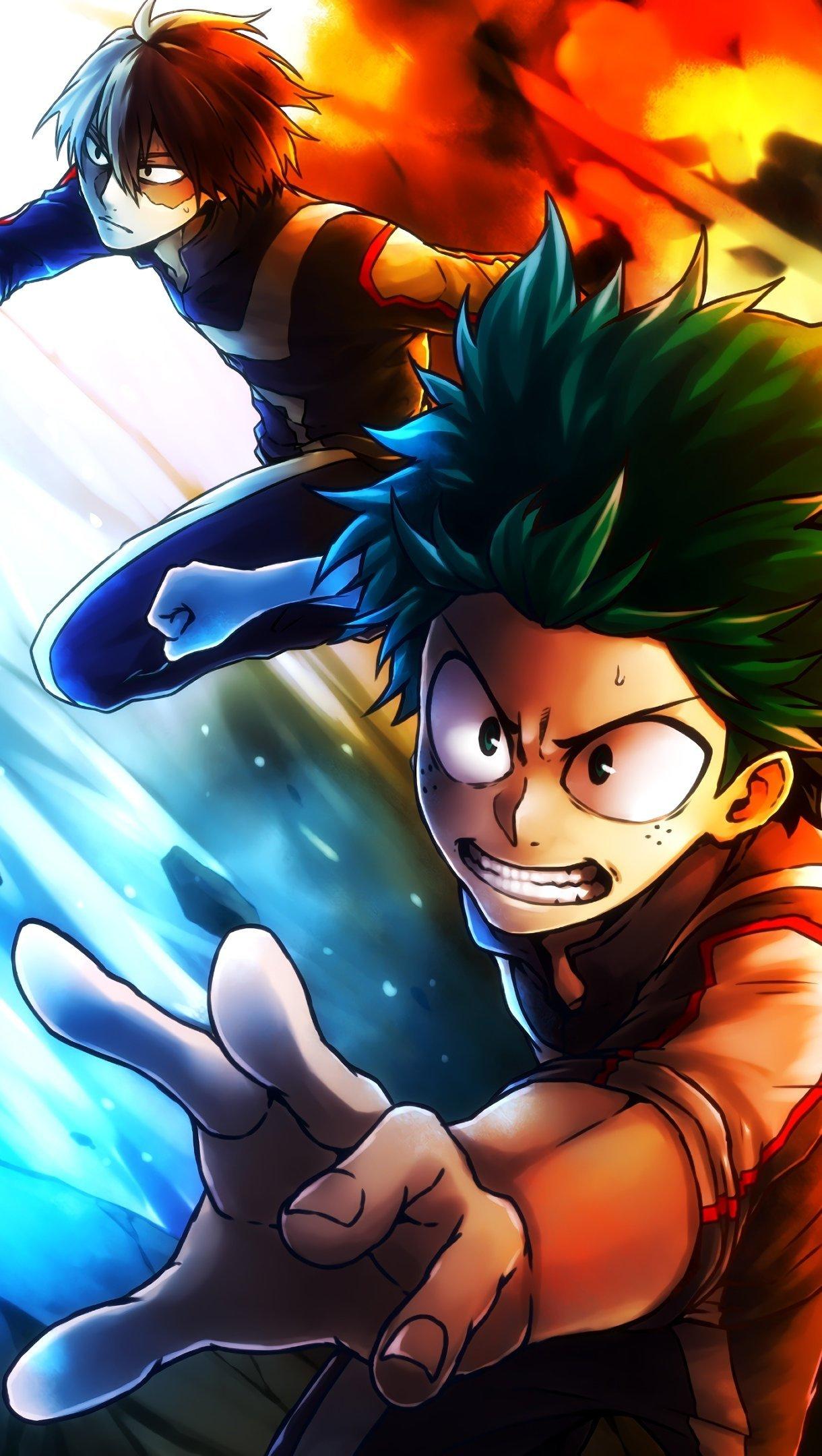 Fondos de pantalla Anime My Hero Academia Vertical