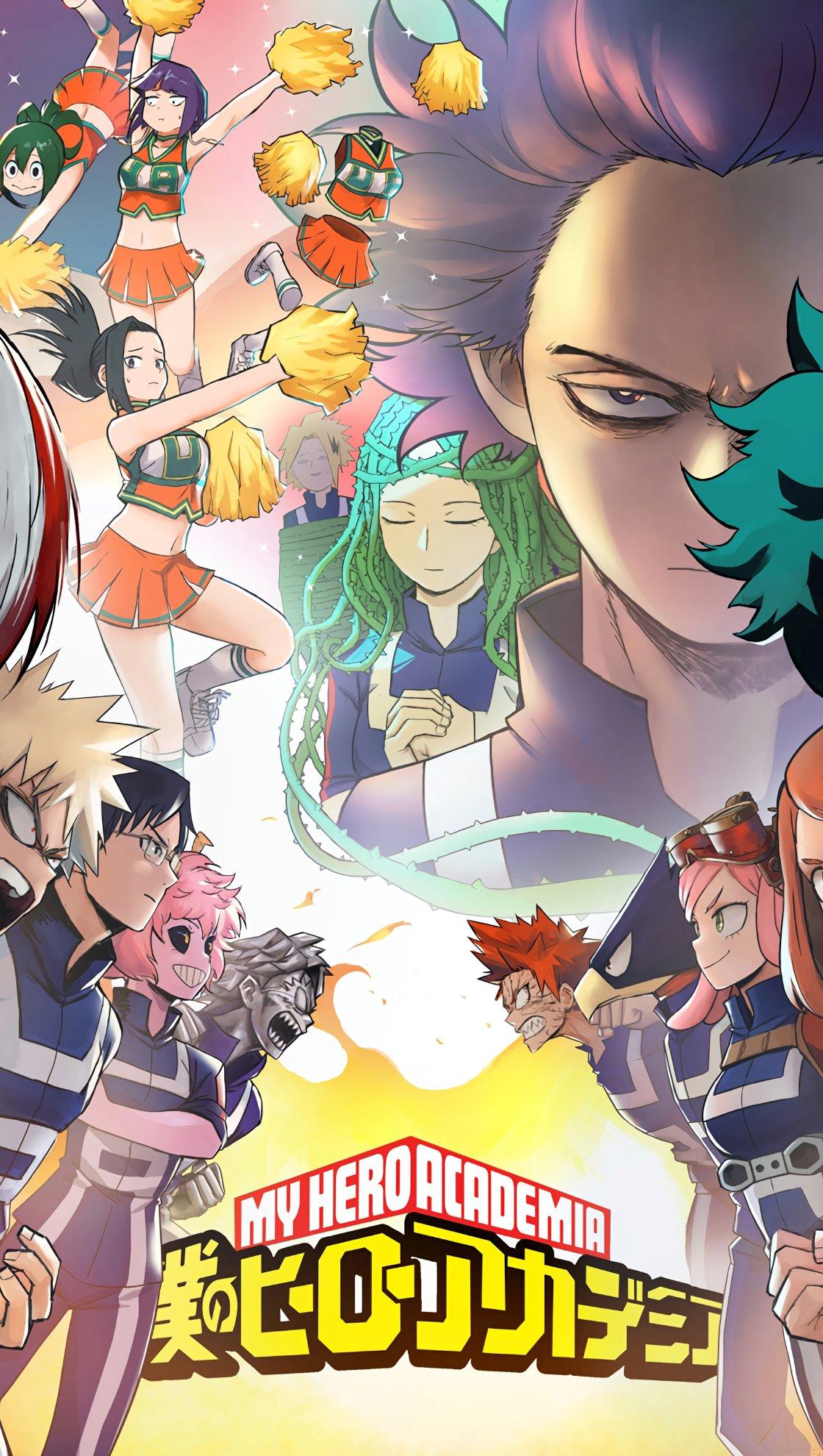 Anime Wallpaper My Hero Academia, Boku no Hero Academia Vertical