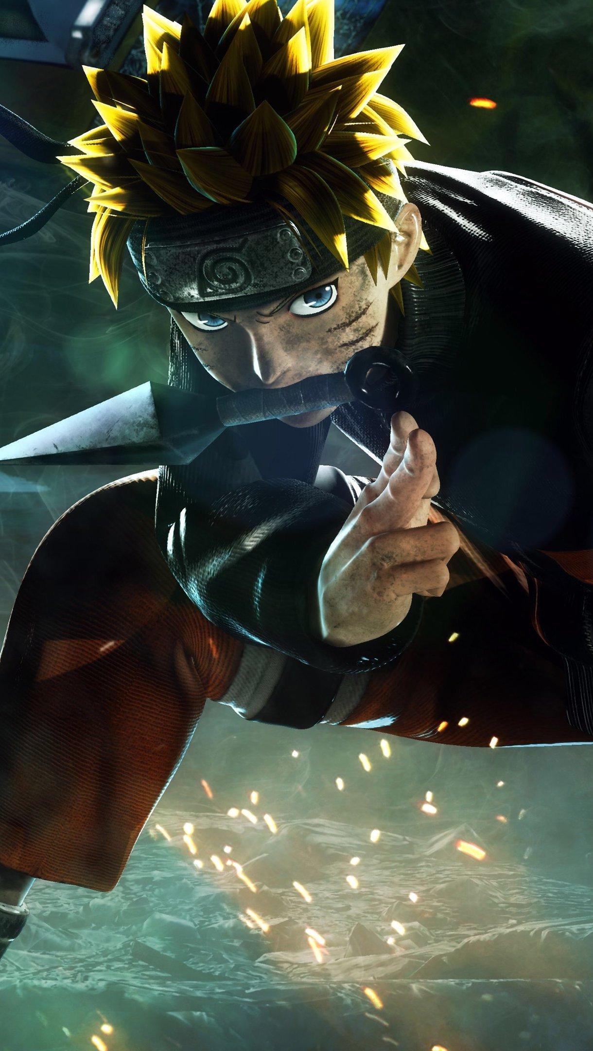 Fondos de pantalla Anime Naruto en juego Jump Force Vertical