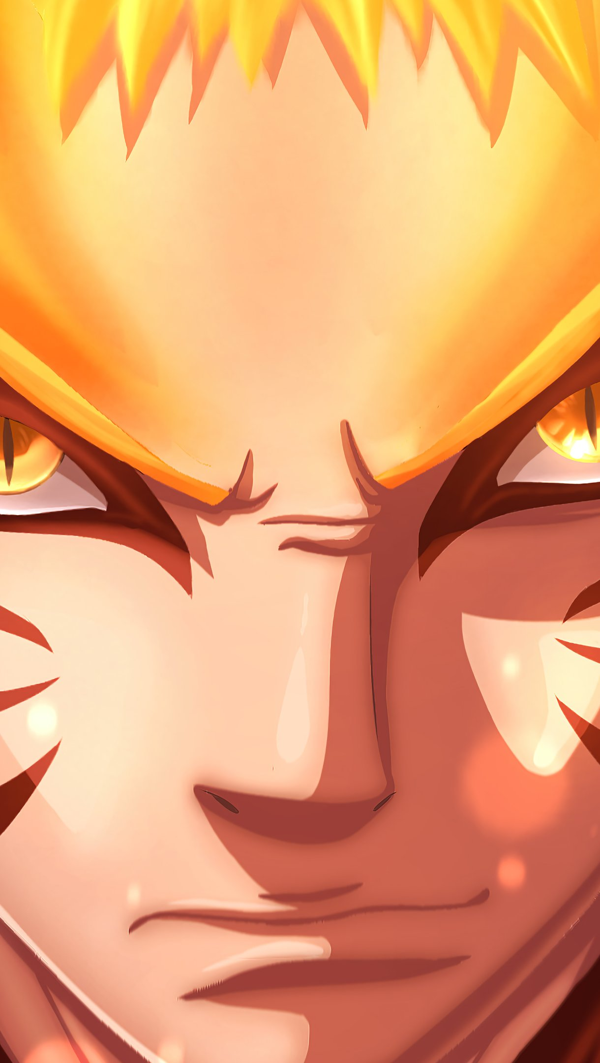 Fondos de pantalla Anime Naruto Uzumaki Baryon Mode Vertical