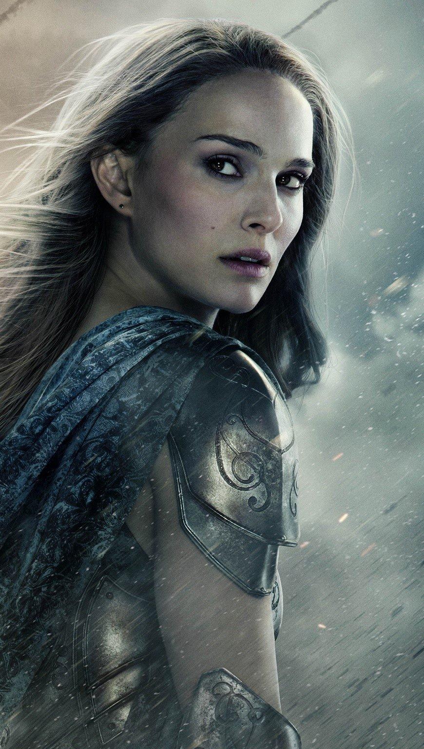 Fondos de pantalla Natalie Portman en Thor 2 Vertical