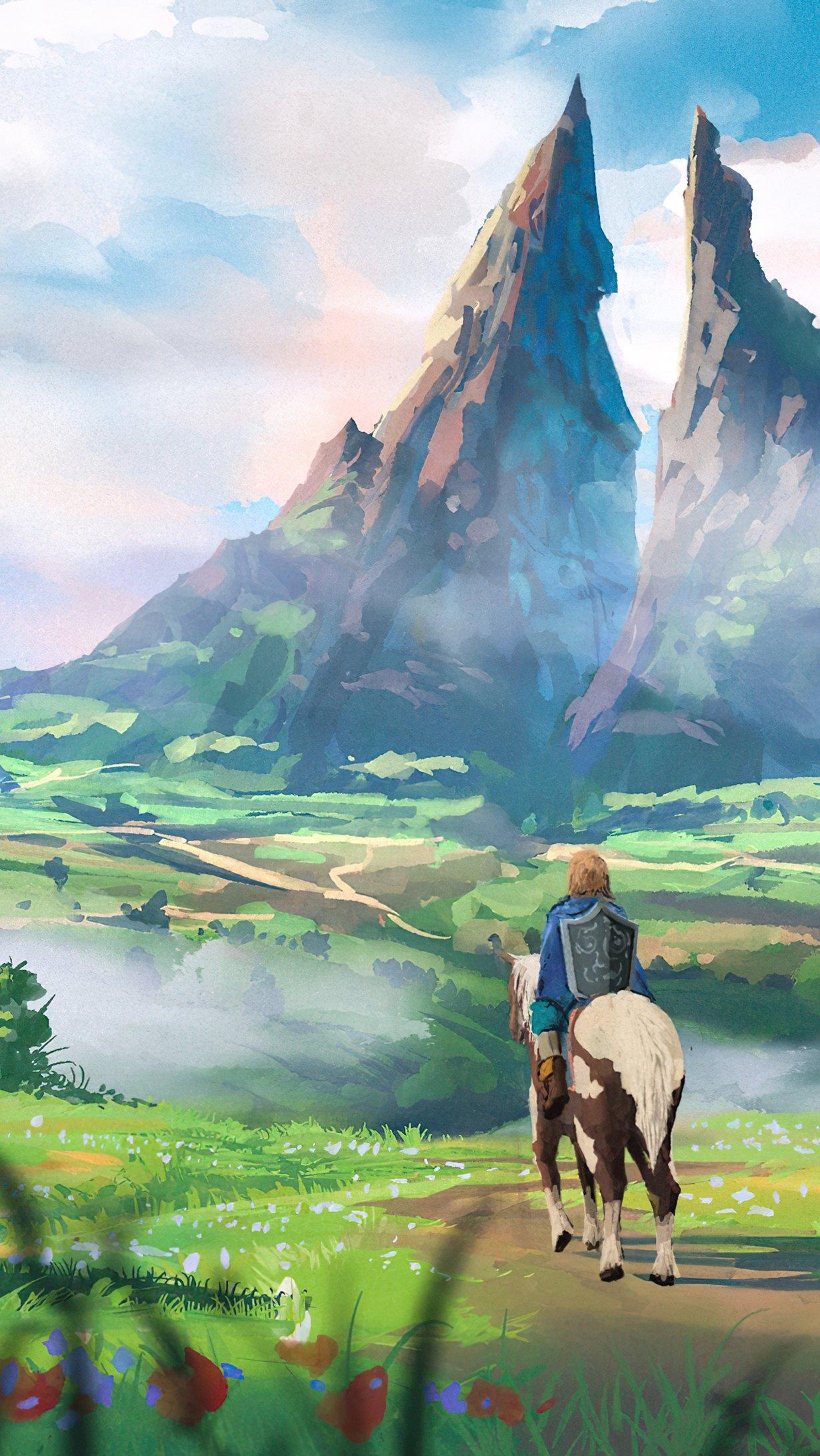 Fondos de pantalla Naturaleza en The Legend of Zelda Vertical