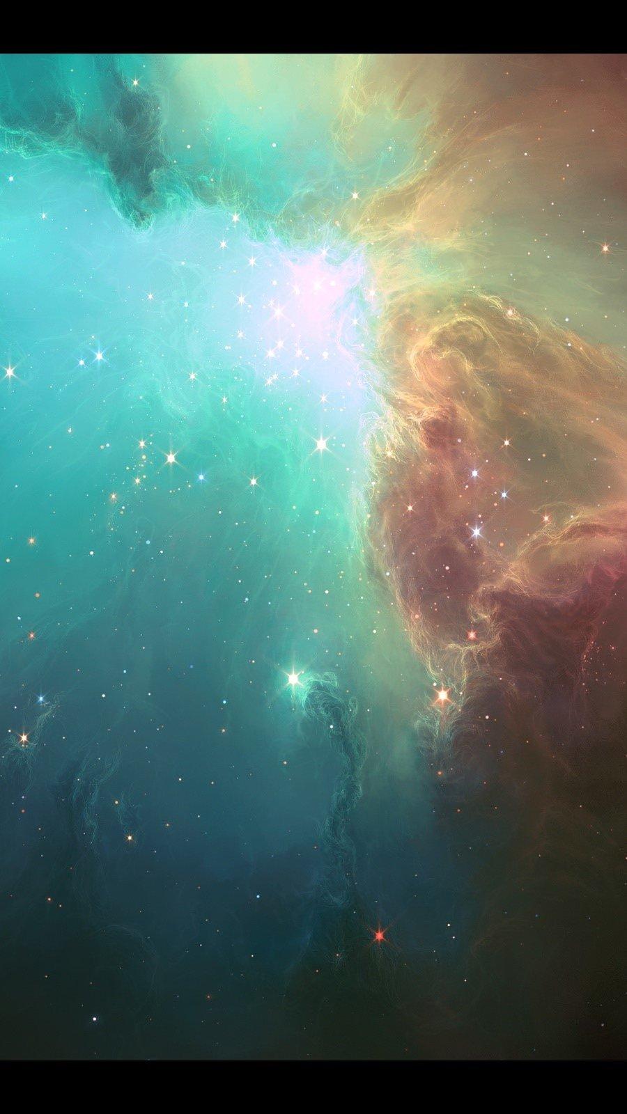 Fondos de pantalla Nebula Vertical