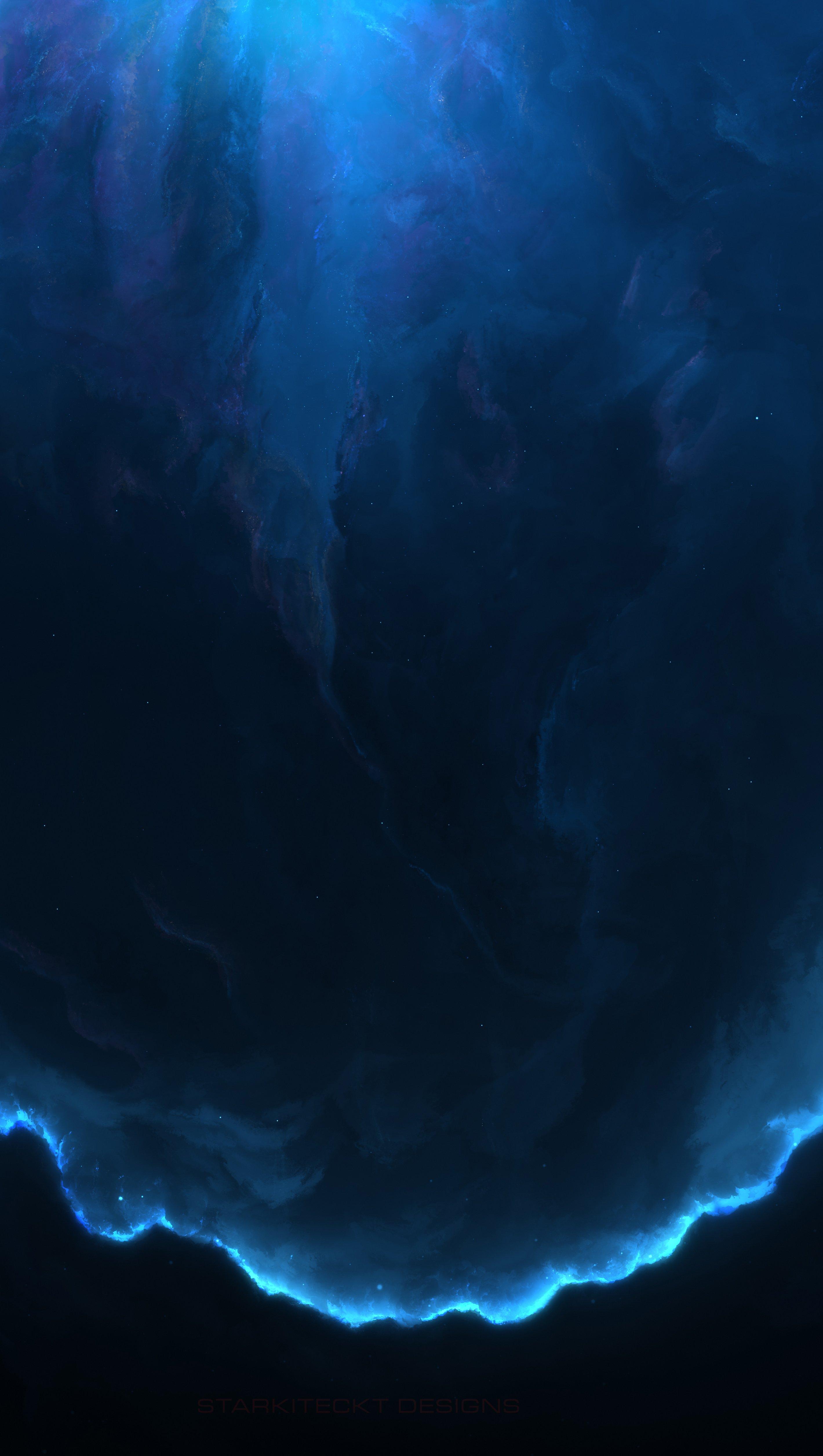 Fondos de pantalla Nebulosa en el Espacio 12k Vertical