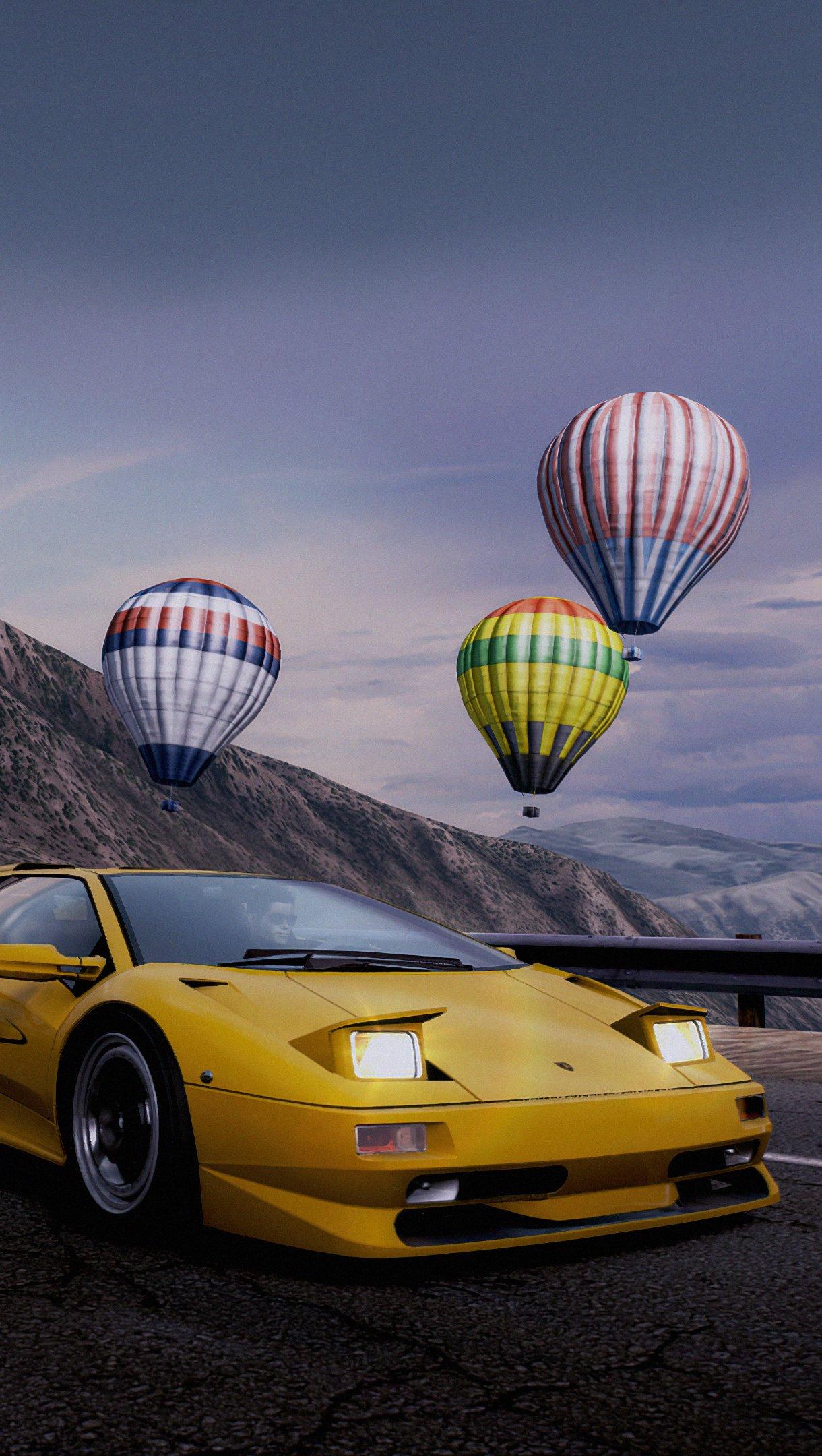 Fondos de pantalla Need for Speed Hot pursuit Lamborghini Diablo Vertical