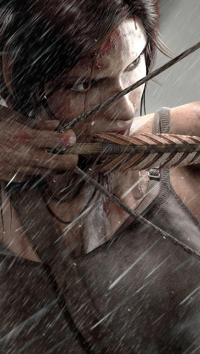 Wallpaper New Lara croft 2013 Vertical