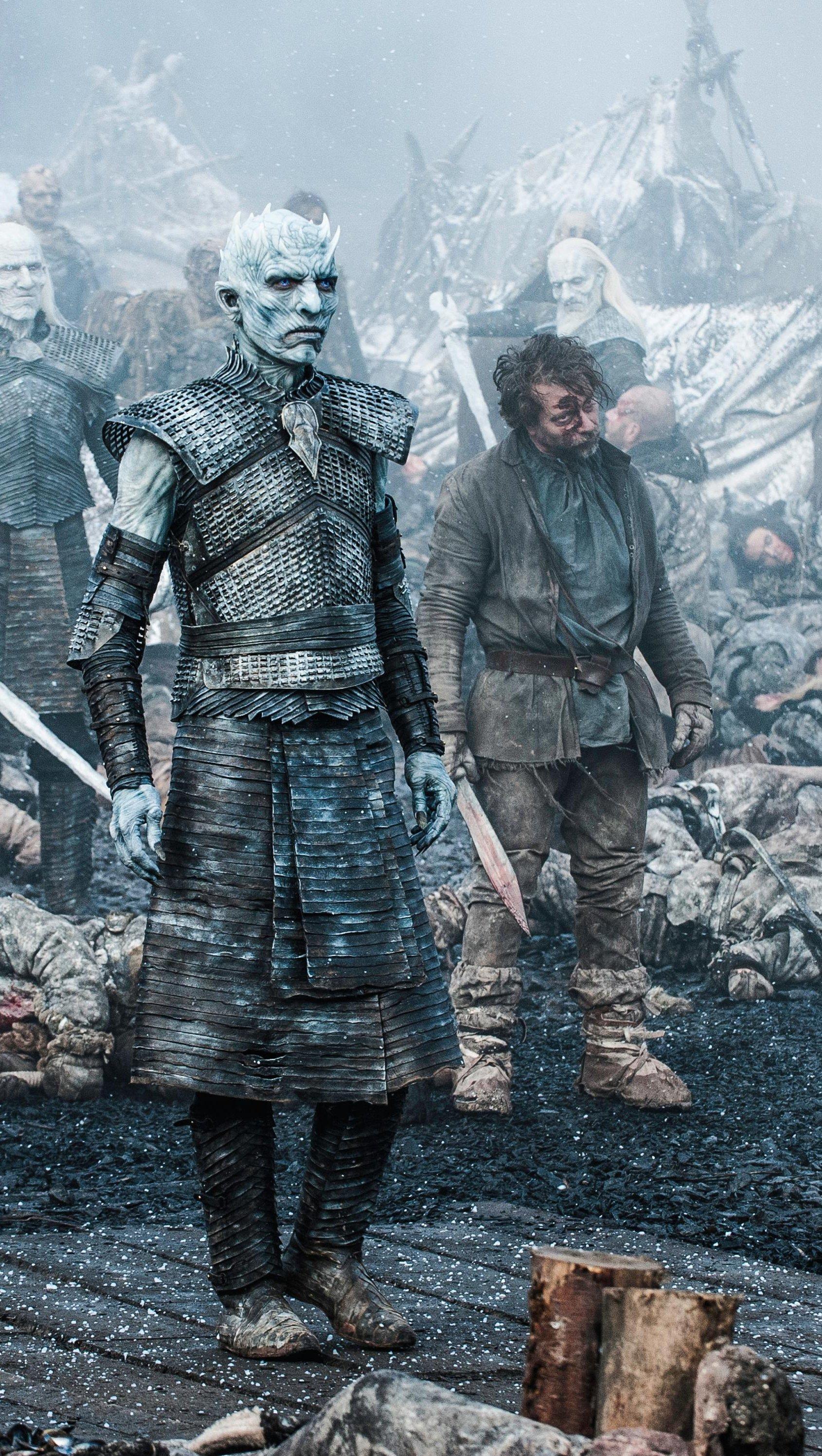 Wallpaper Night King Game of Thrones Vertical