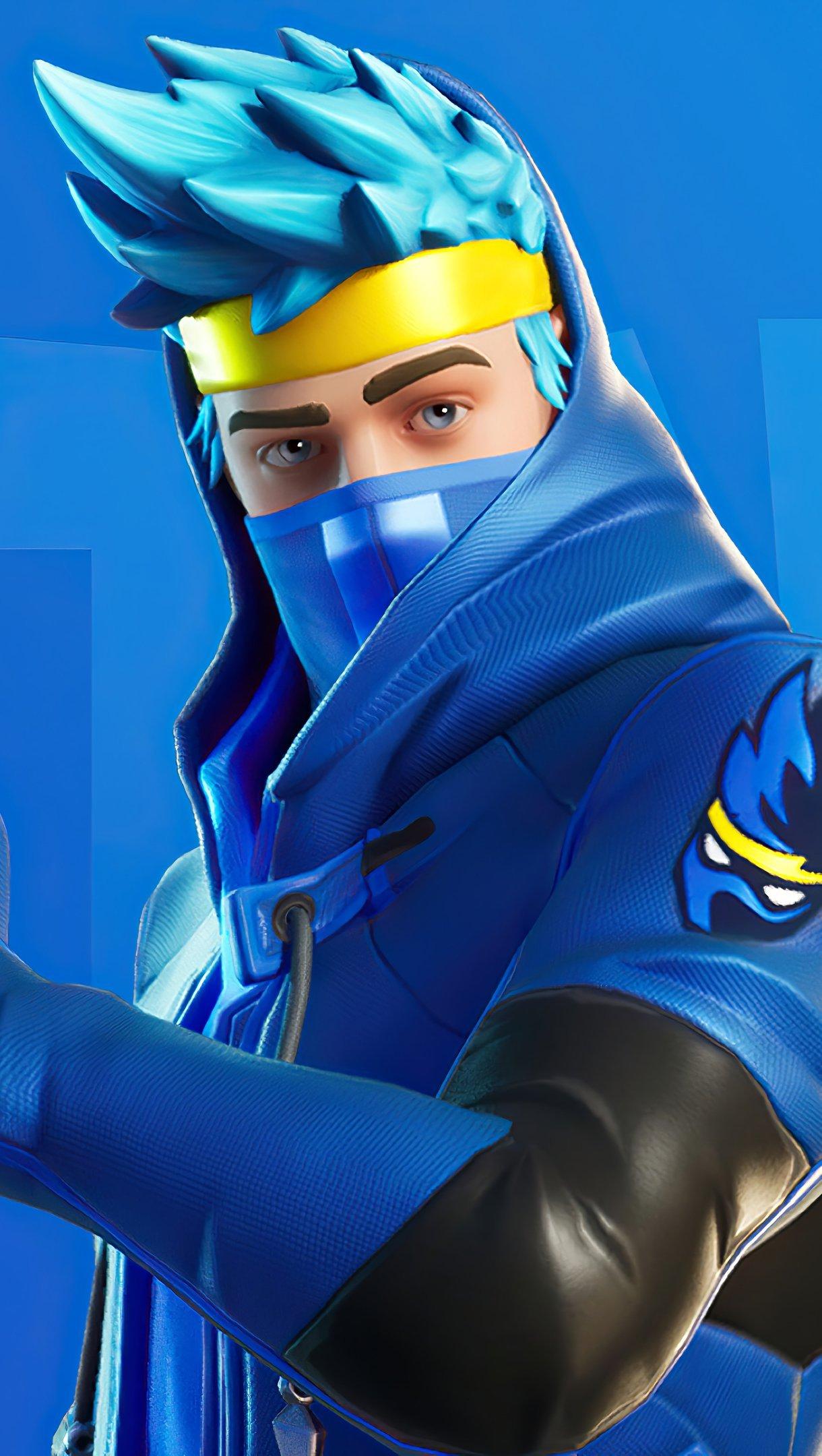 Fondos de pantalla Ninja Fortnite Battle Royale Skin Vertical