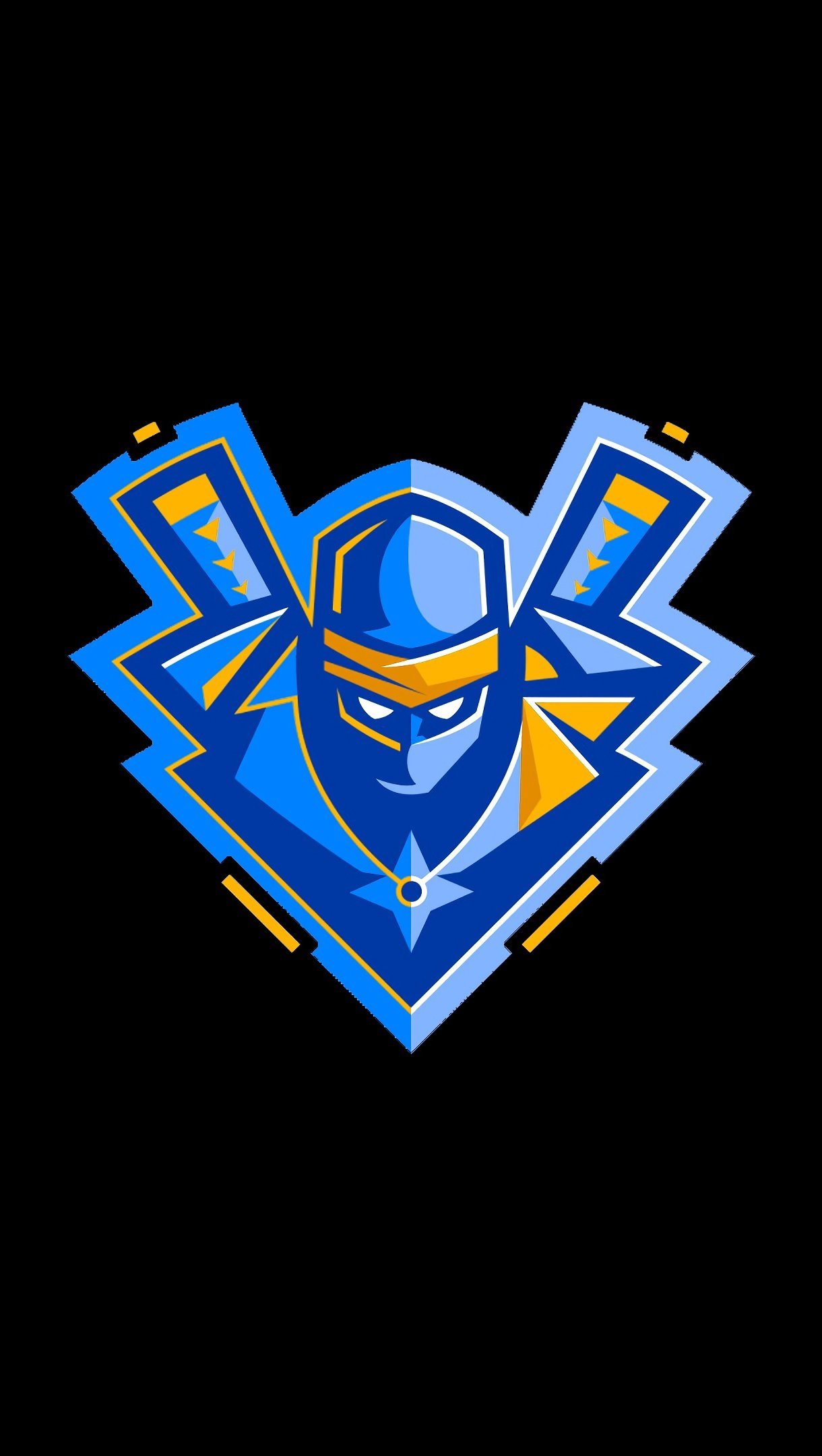 Wallpaper Ninja Logo Fortnite Battle Royale Vertical