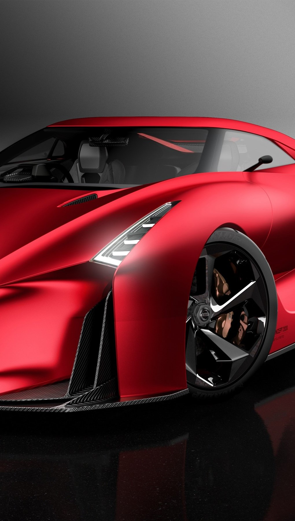 Wallpaper Nissan Concept 2020 Vertical