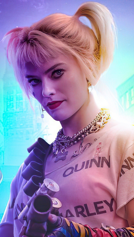 Fondos de pantalla No te metas con Harley Quinn Vertical