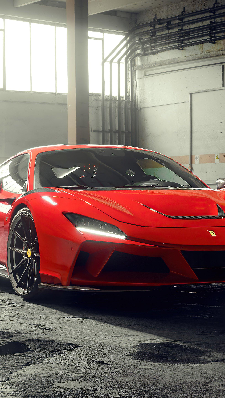 Wallpaper Novitec Ferrari F8 Tributo Vertical