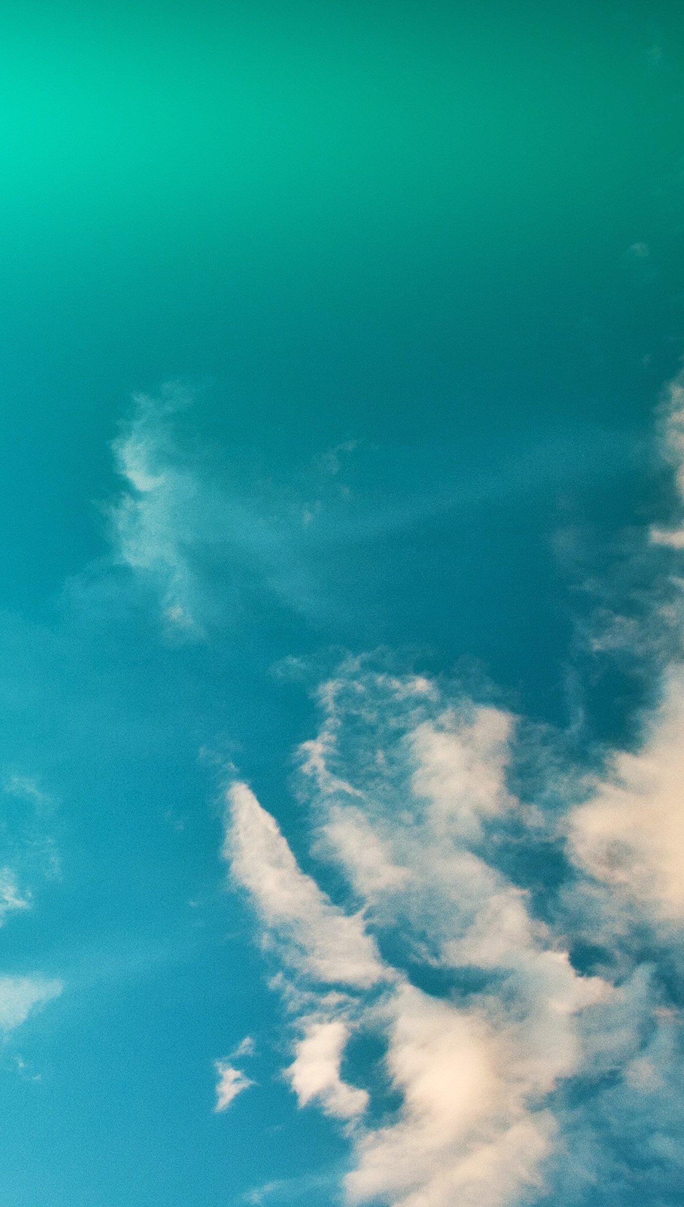 Wallpaper Clouds in the sky Vertical