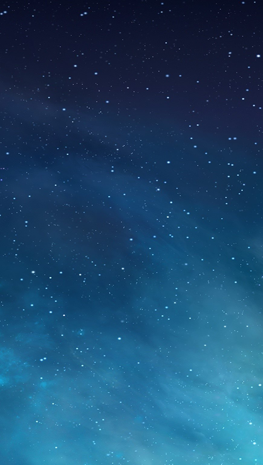 Wallpaper Clouds and stars Vertical
