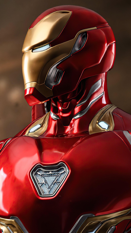 Fondos de pantalla Nuevo traje de Iron Man Vertical