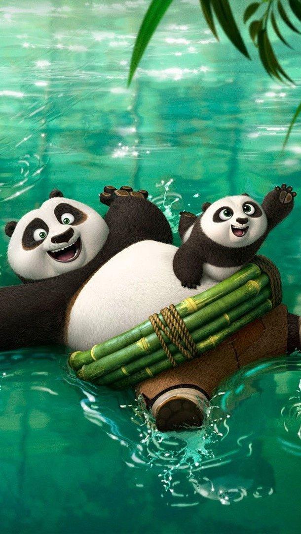 Wallpaper New characters of Kung fu Panda 3 Vertical