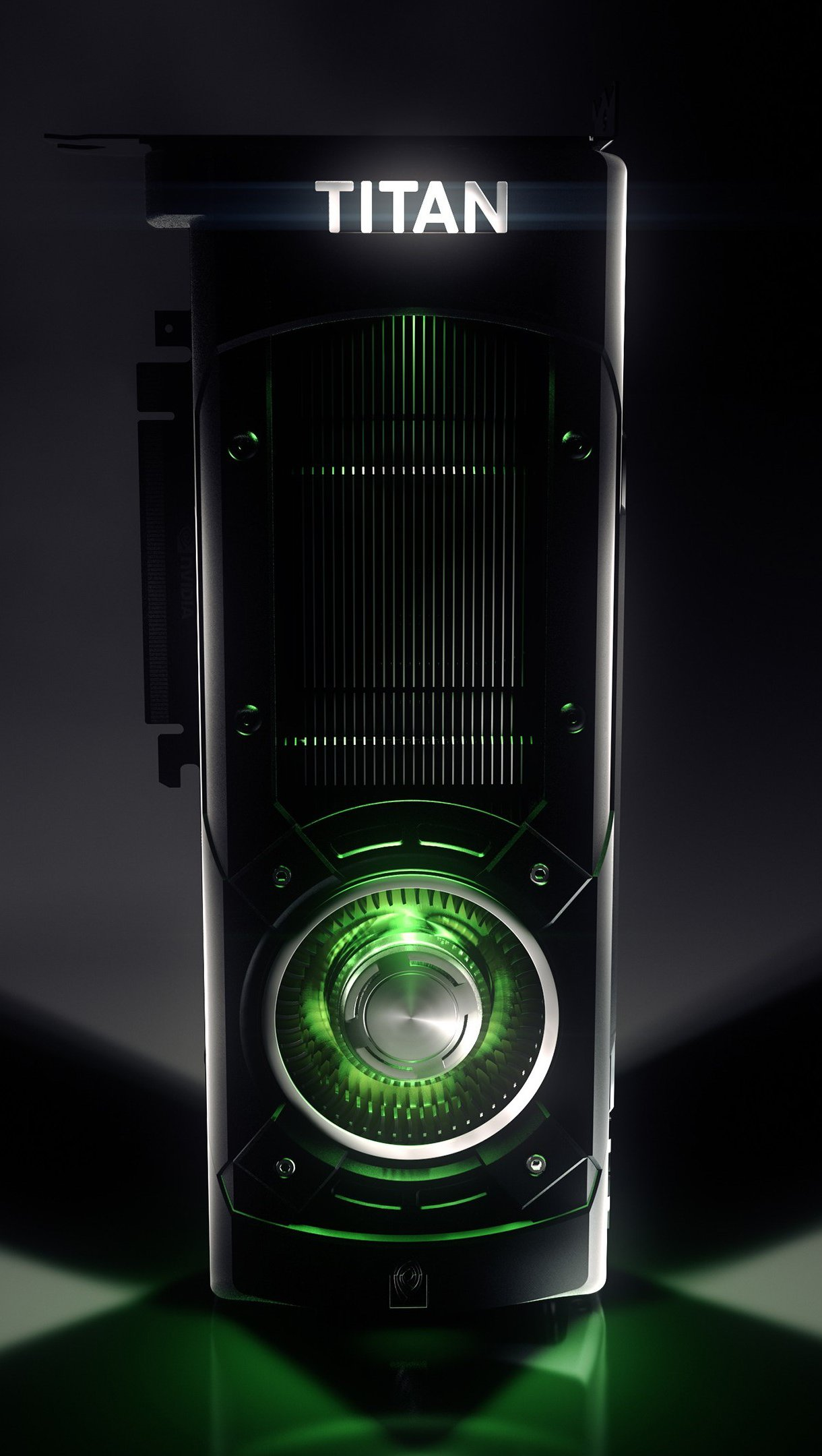 Wallpaper Nvidia GeForce GTX TITAN Vertical