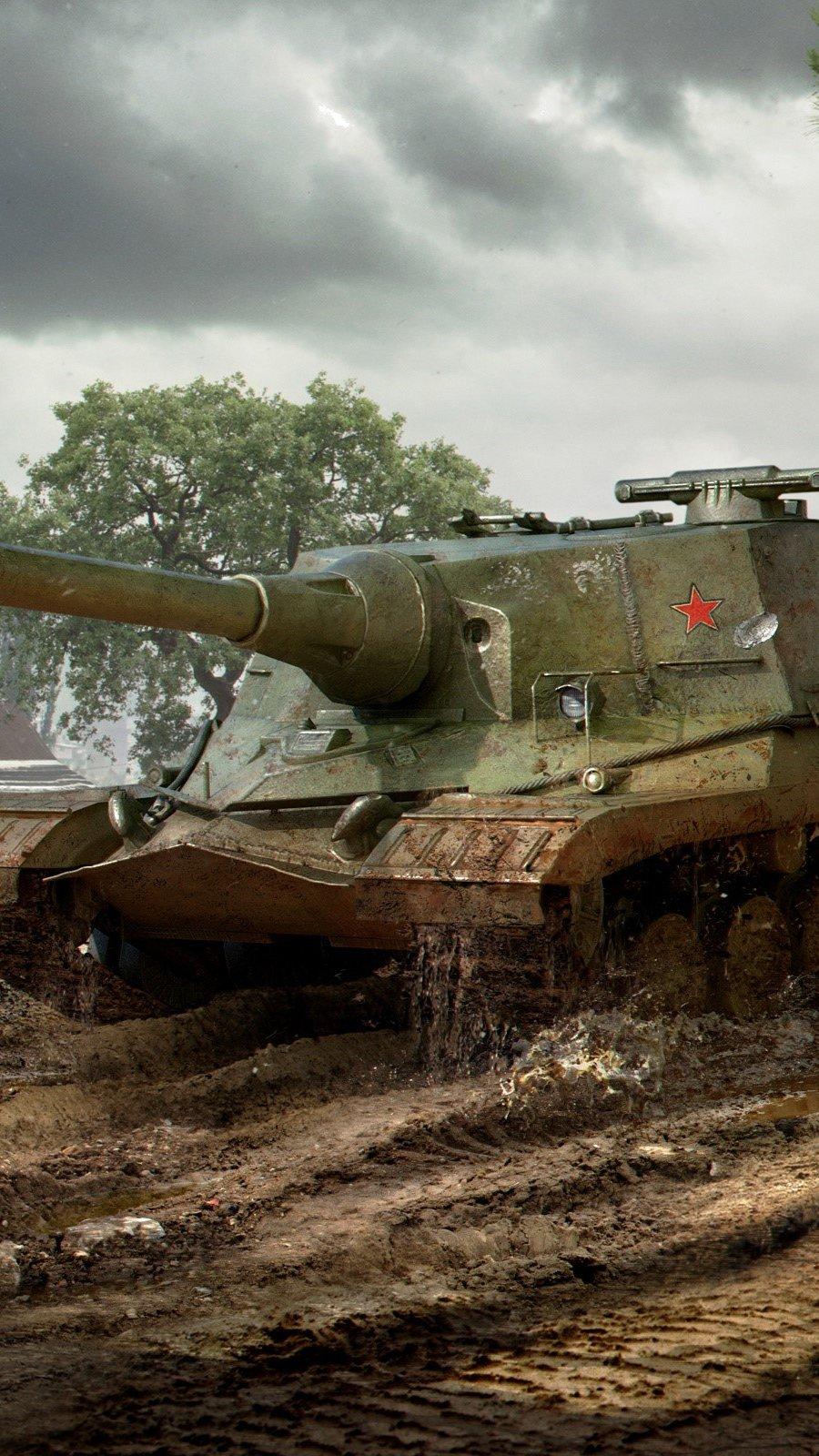 Wallpaper Object 268 of World Of Tanks Vertical