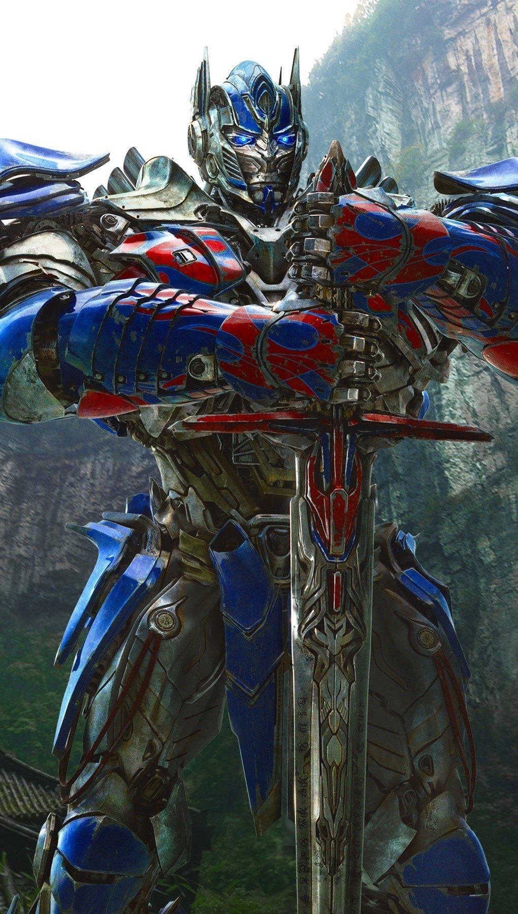 Wallpaper Optimus Prime Vertical