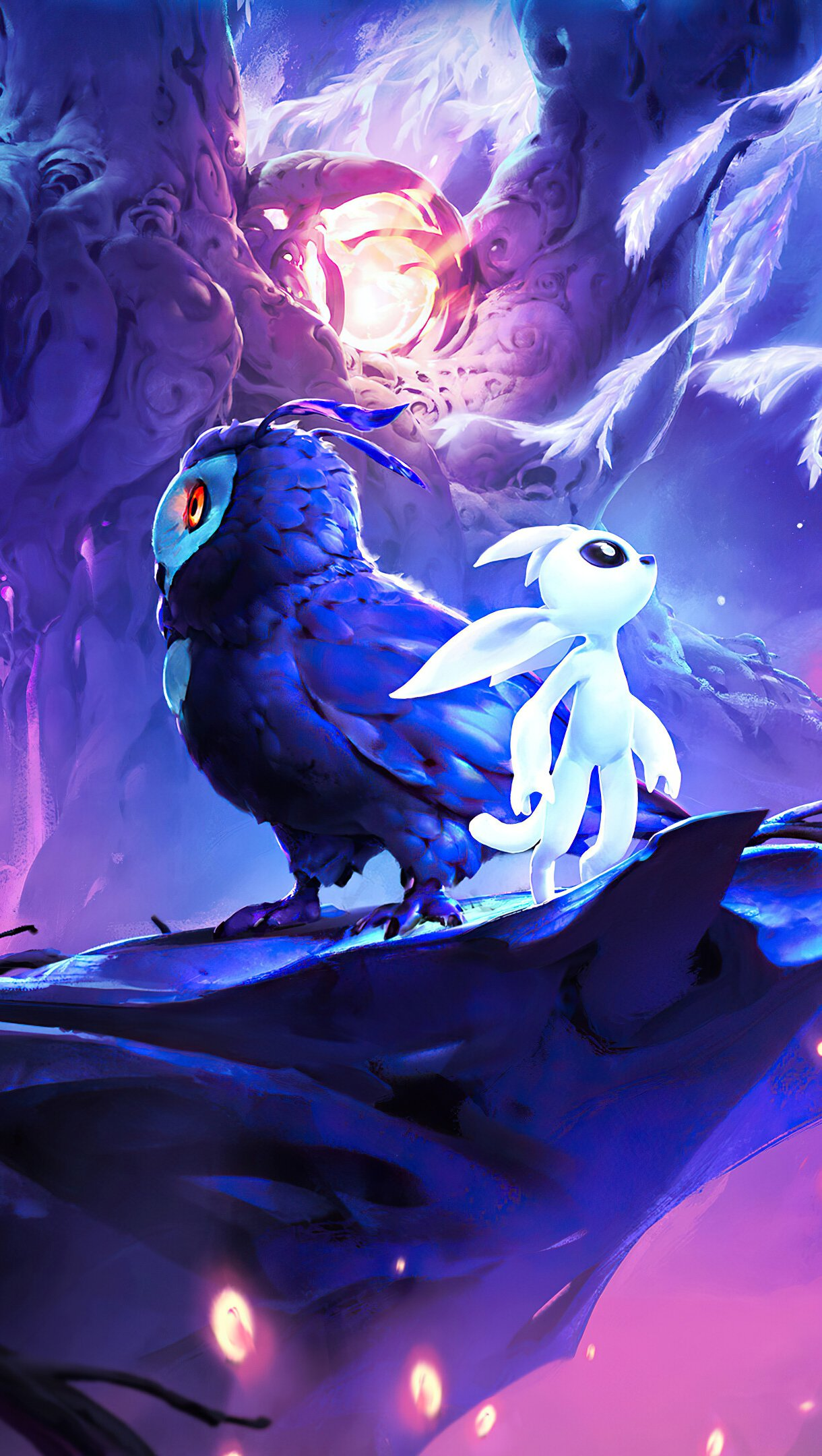 Wallpaper Ori and the Will of the Wisps Vertical