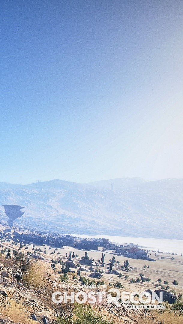 Wallpaper Landscape of Ghost Recon 3 Vertical