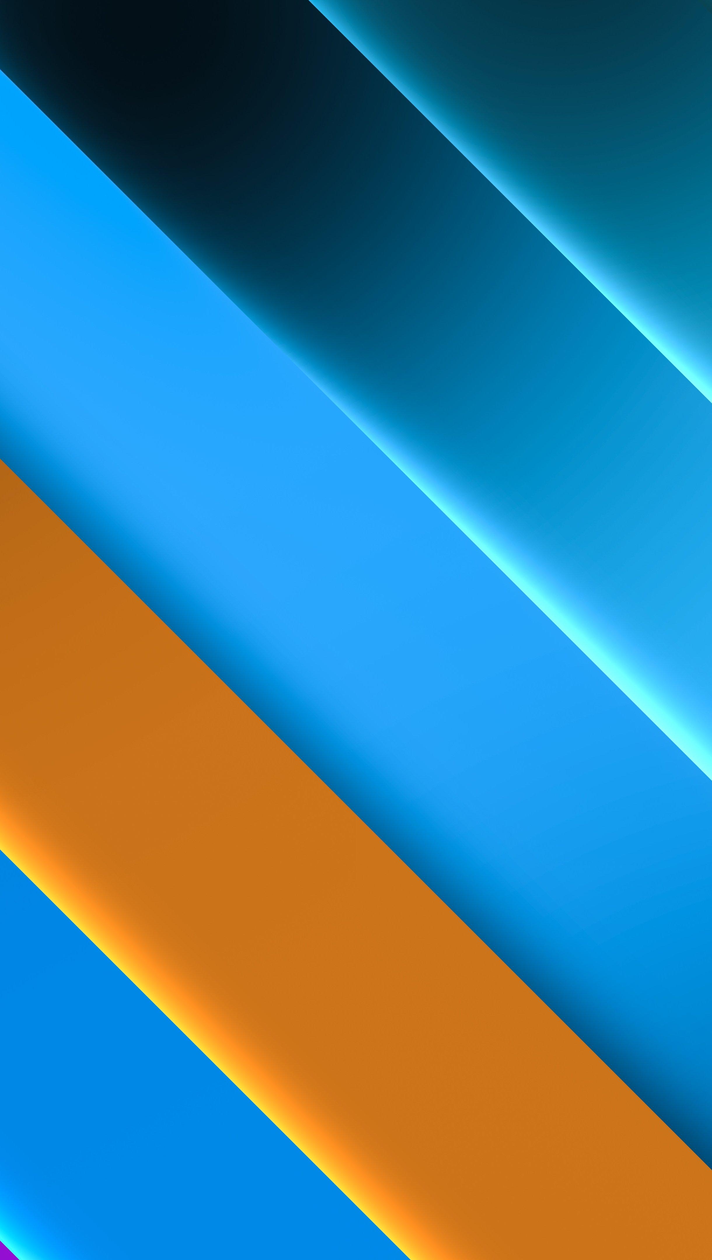 Fondos de pantalla Paleta de colores azules Vertical