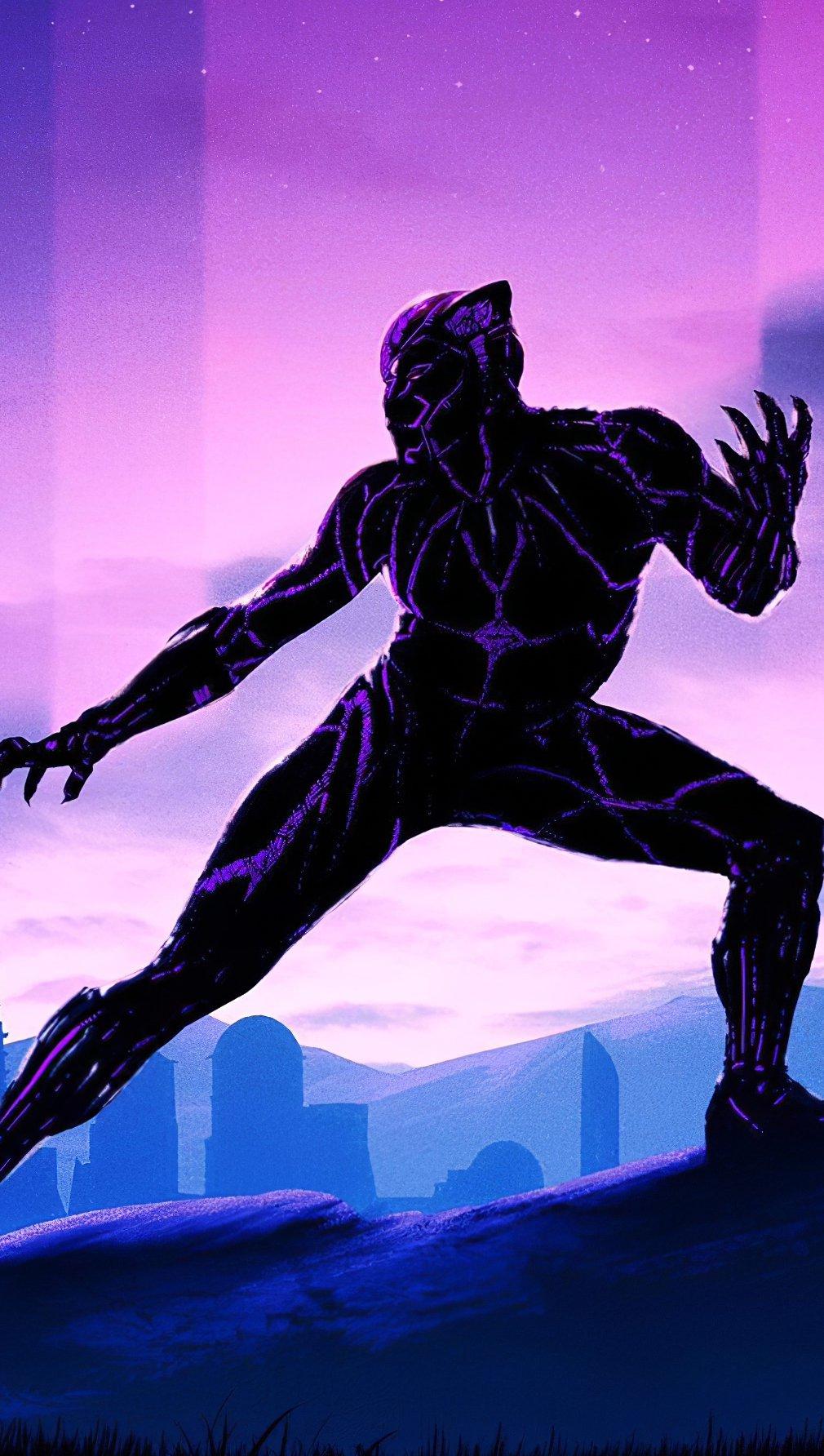 Fondos de pantalla Pantera negra 2020 Vertical