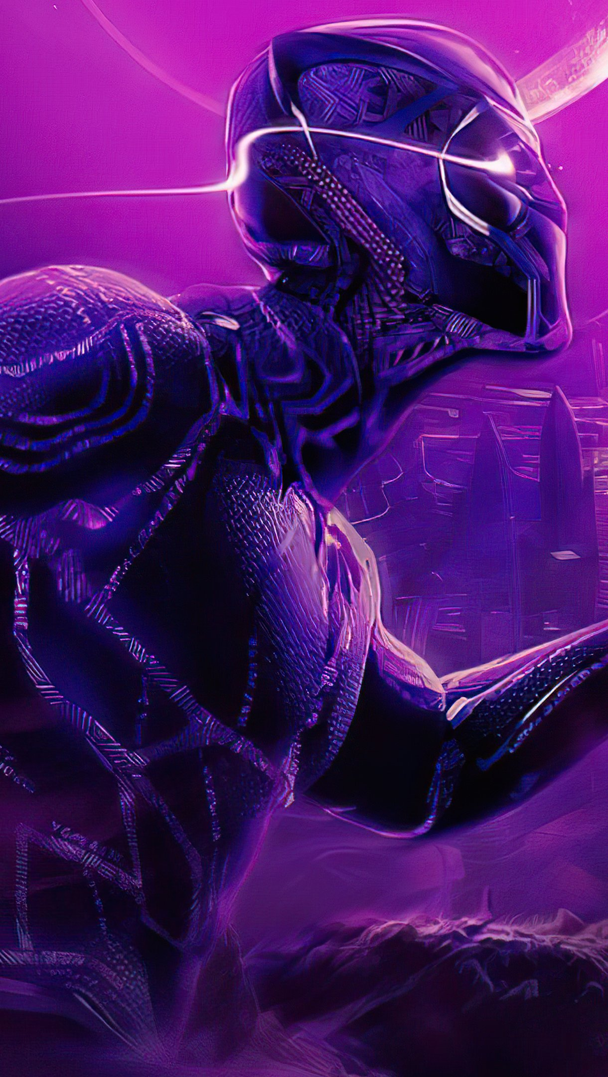 Wallpaper Black Panther Vertical