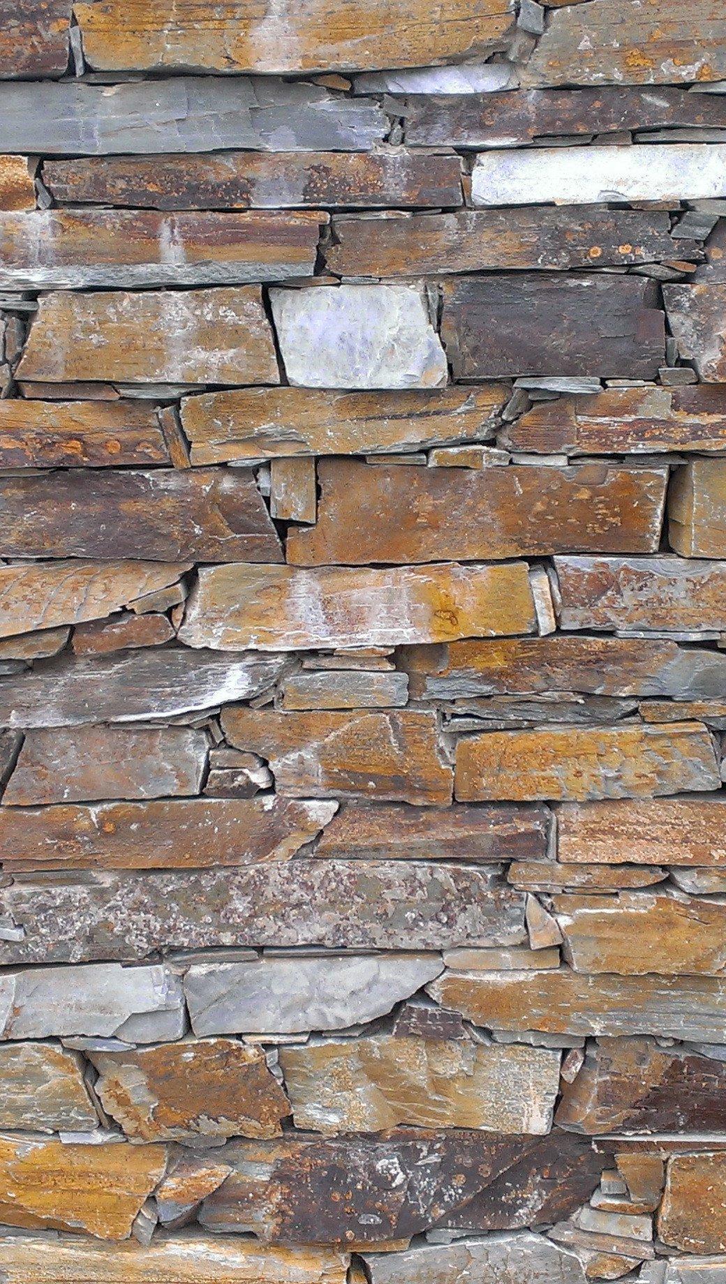Wallpaper Stone wall Vertical