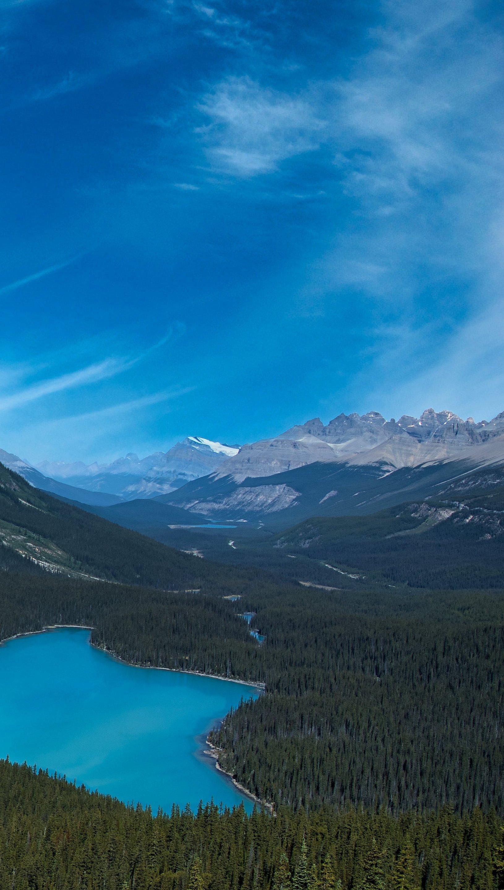 Fondos de pantalla Parque Nacional Banff en Canada Vertical