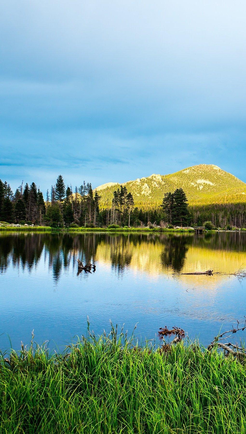 Wallpaper Rocky Mountain National Park Vertical