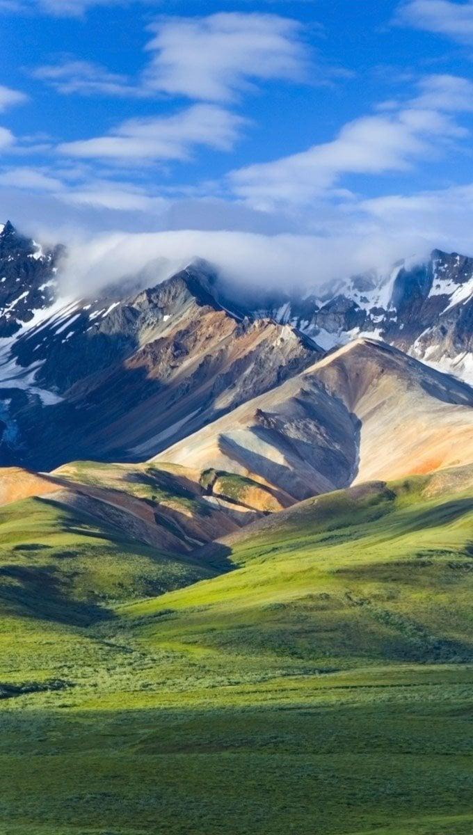 Fondos de pantalla Parque nacional Denali Vertical