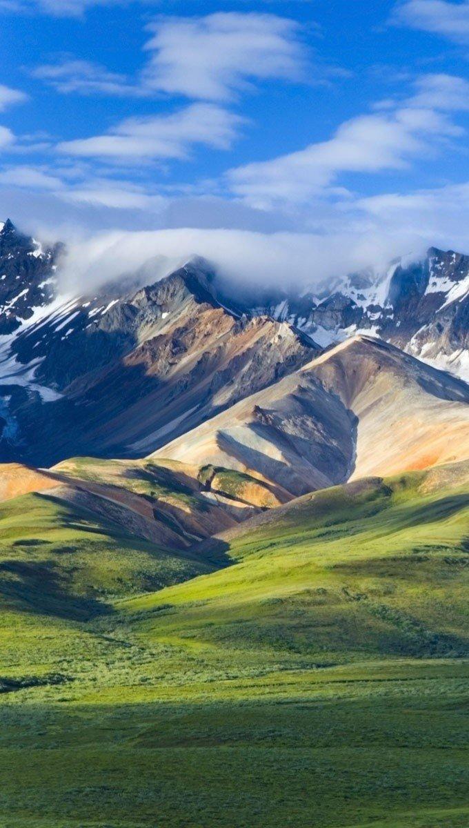 Wallpaper Denali National Park Vertical