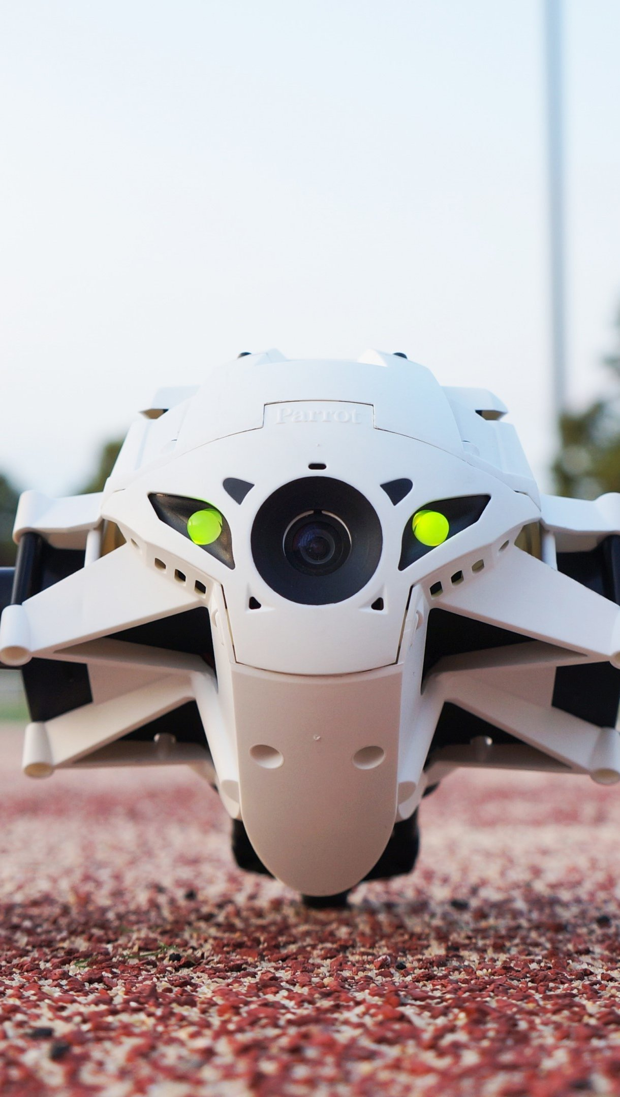 Fondos de pantalla Parrot Minidrone Jumping Sumo Vertical